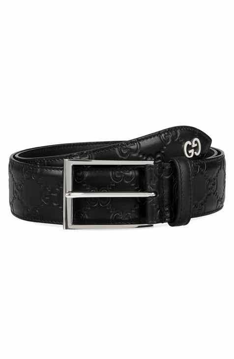8850fe55861 Gucci Leather Belt.  450.00. Product Image. BLACK DIAM
