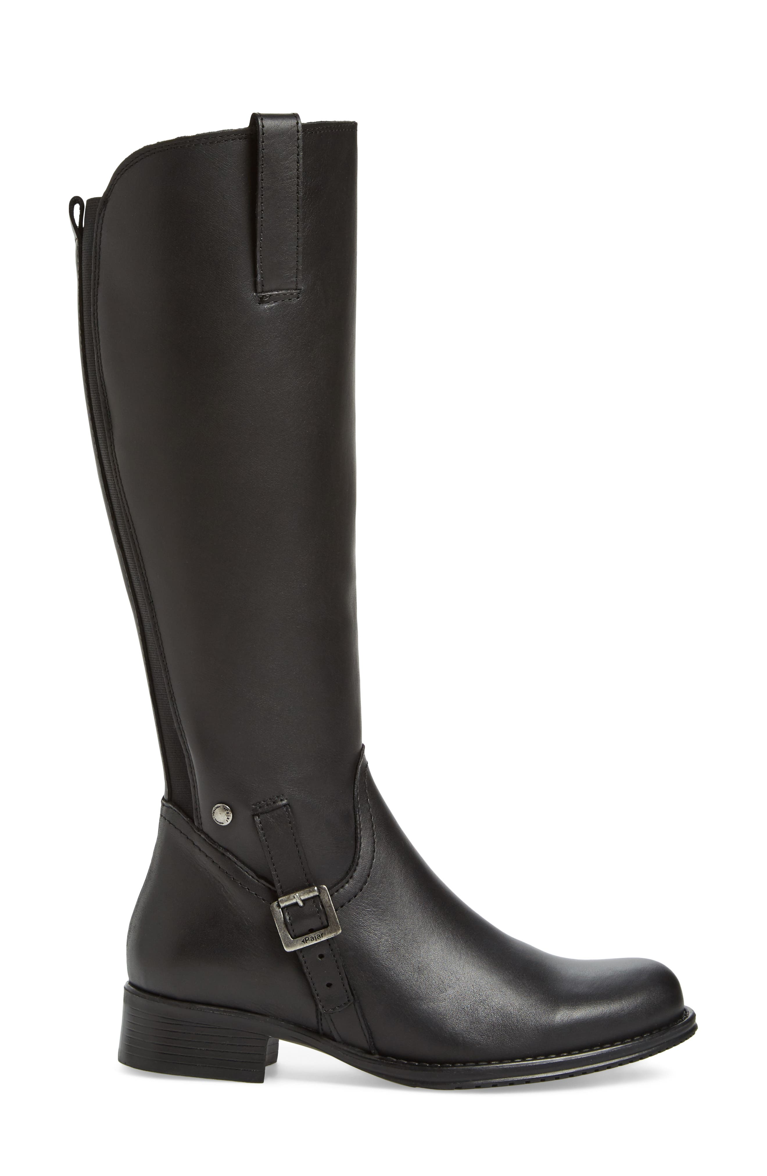 Dogueno Waterproof Boot,                             Alternate thumbnail 3, color,                             Black Leather