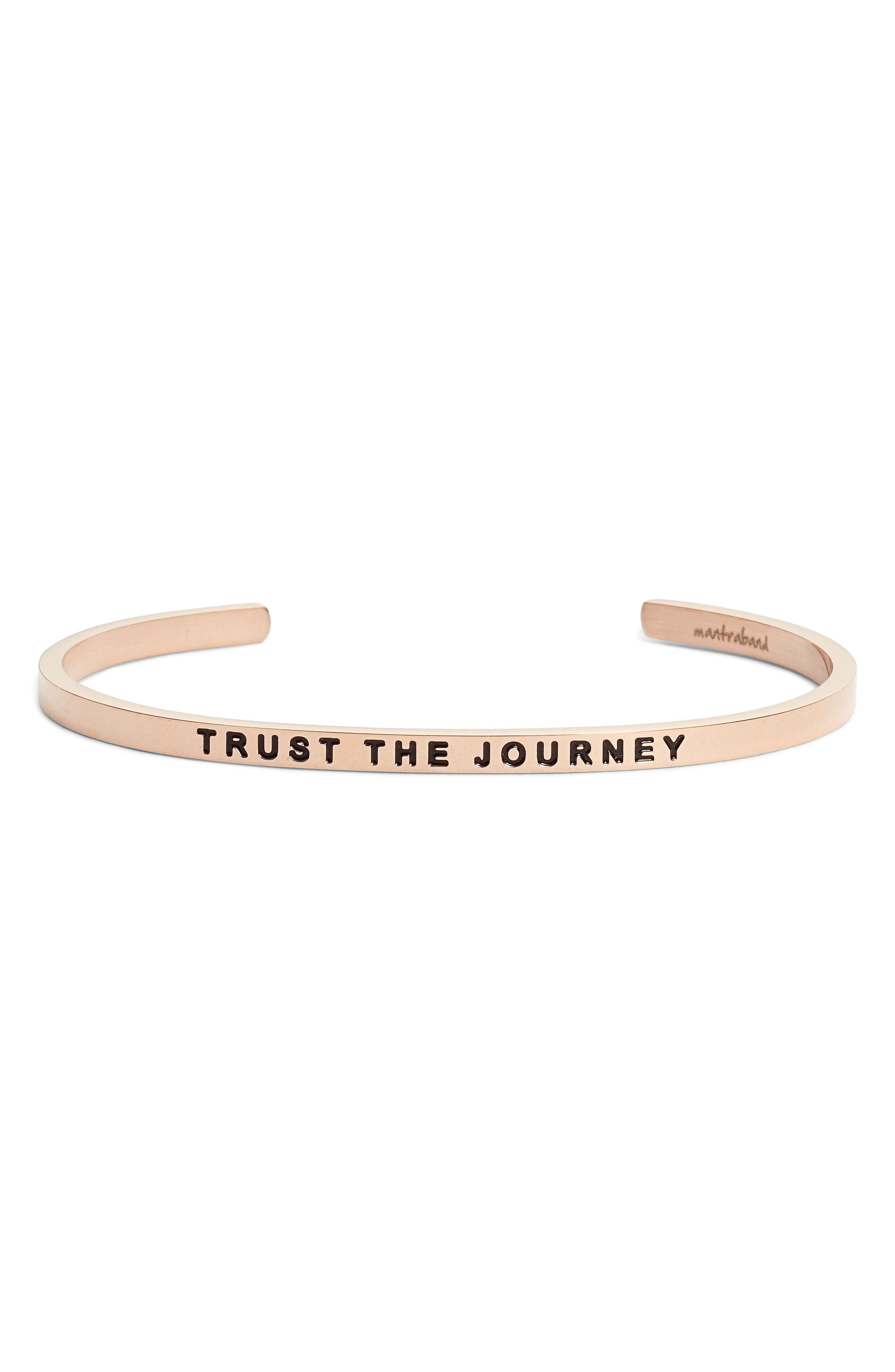 MantraBand® Trust the Journey Cuff