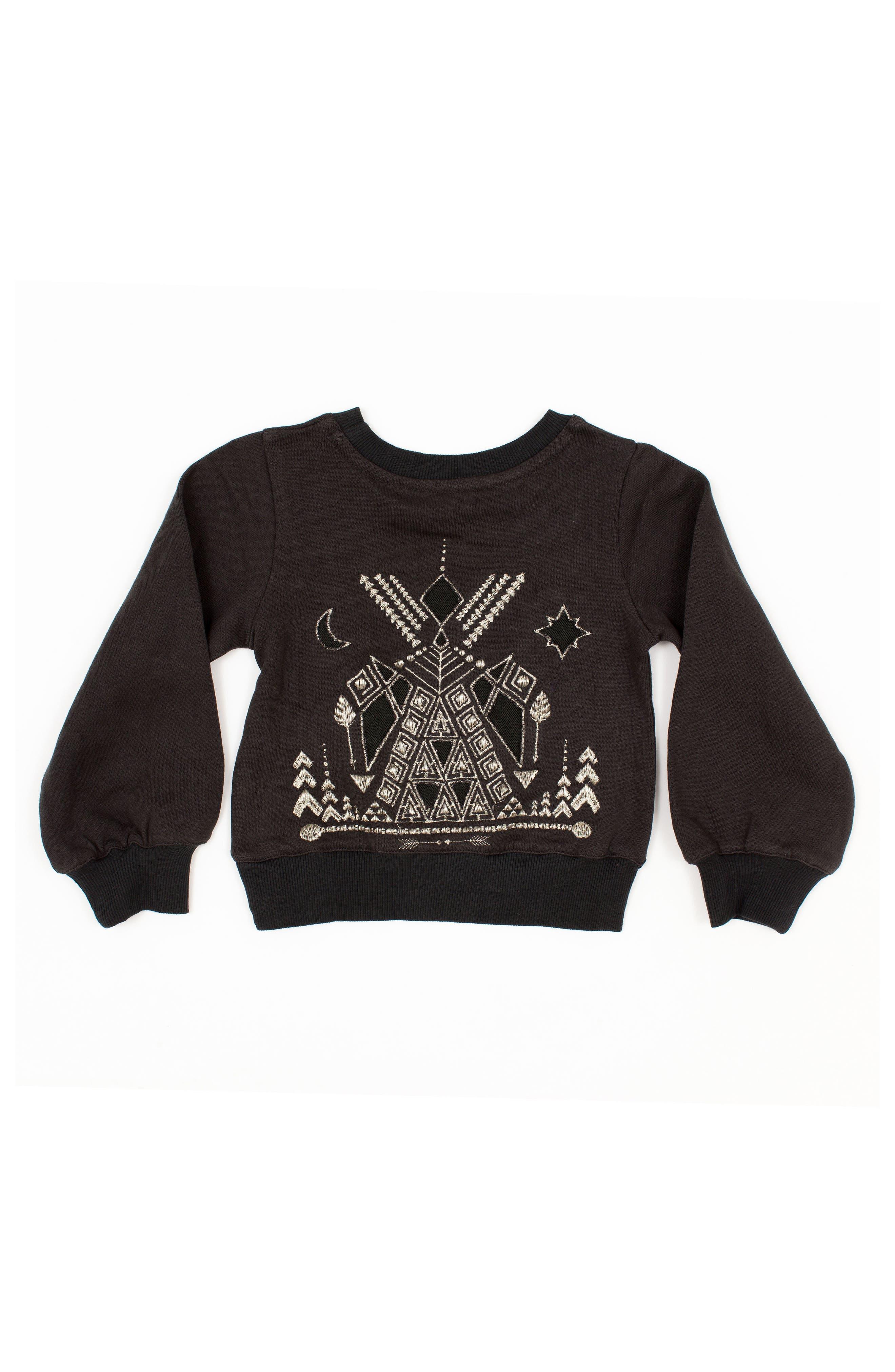 Alternate Image 2  - BOWIE X JAMES Alchemy Sweatshirt (Toddler Girls, Little Girls & Big Girls)