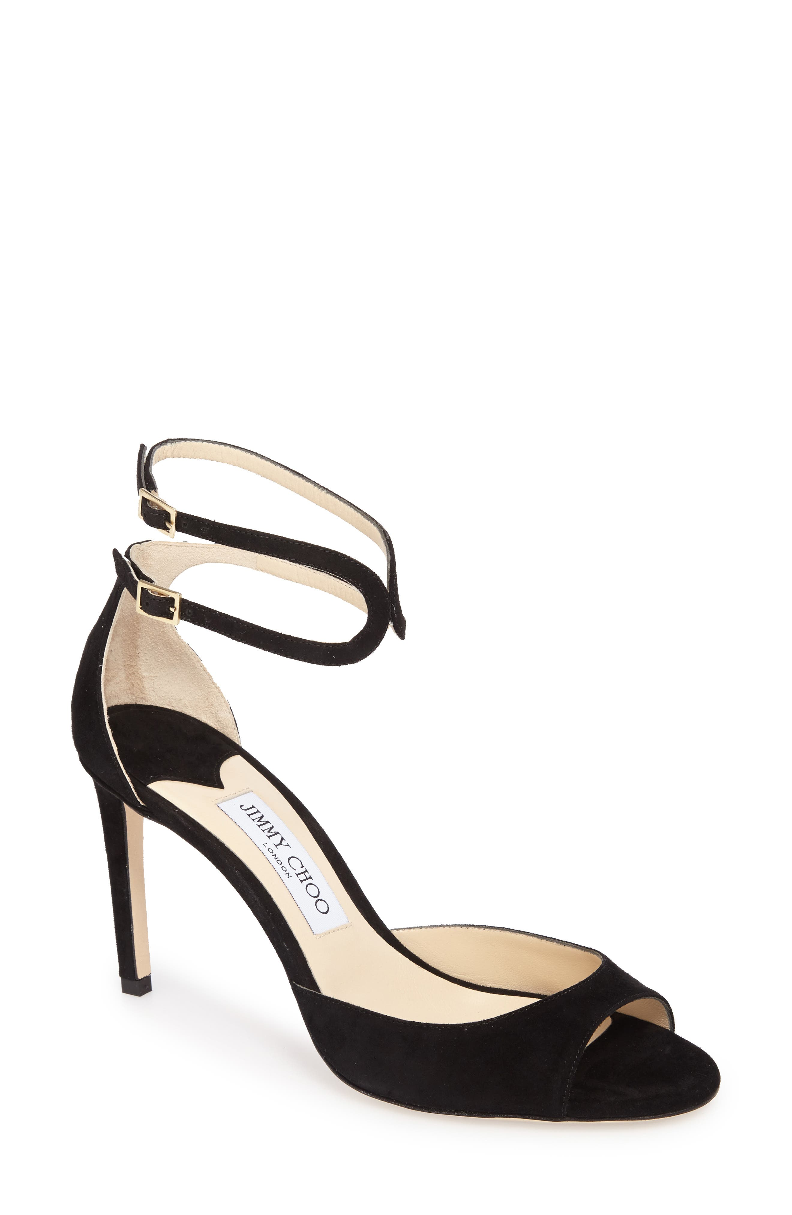 Lane Sandal,                         Main,                         color, Black