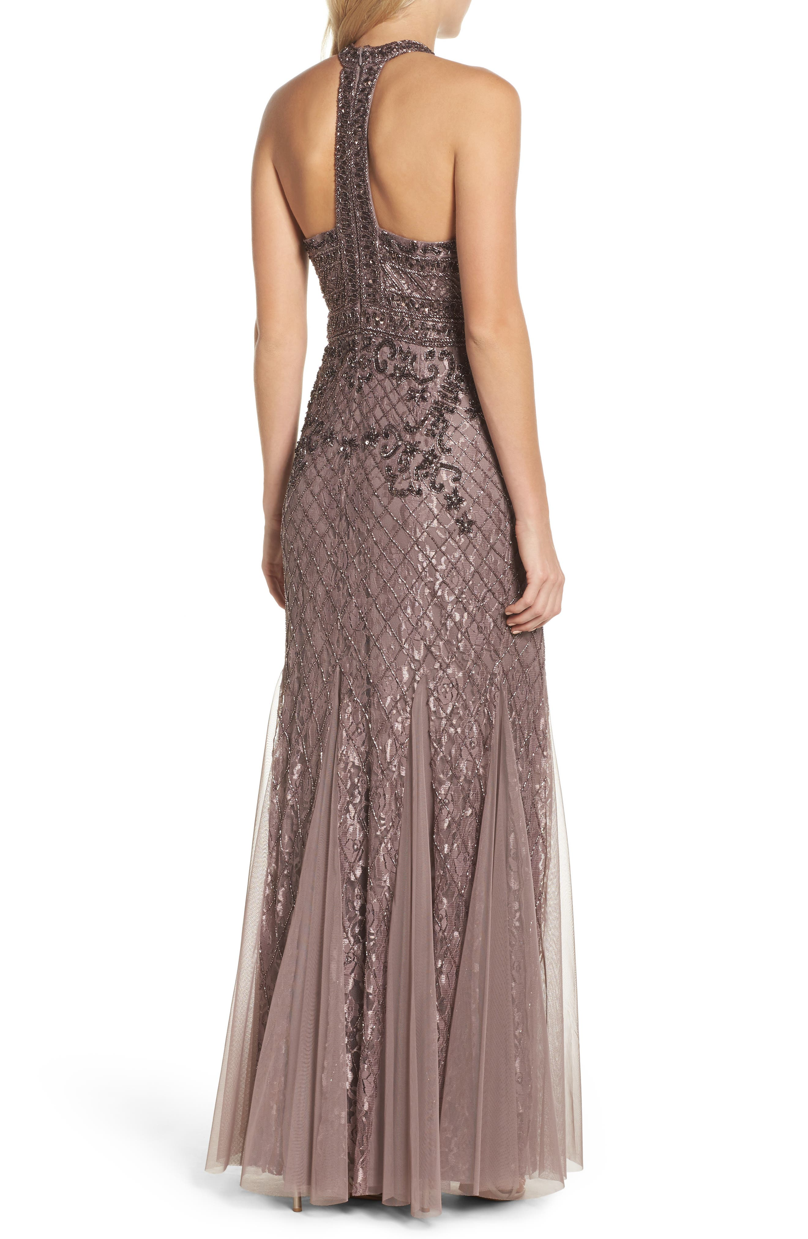 Alternate Image 2  - Adrianna Papell Bead Embellished Gown