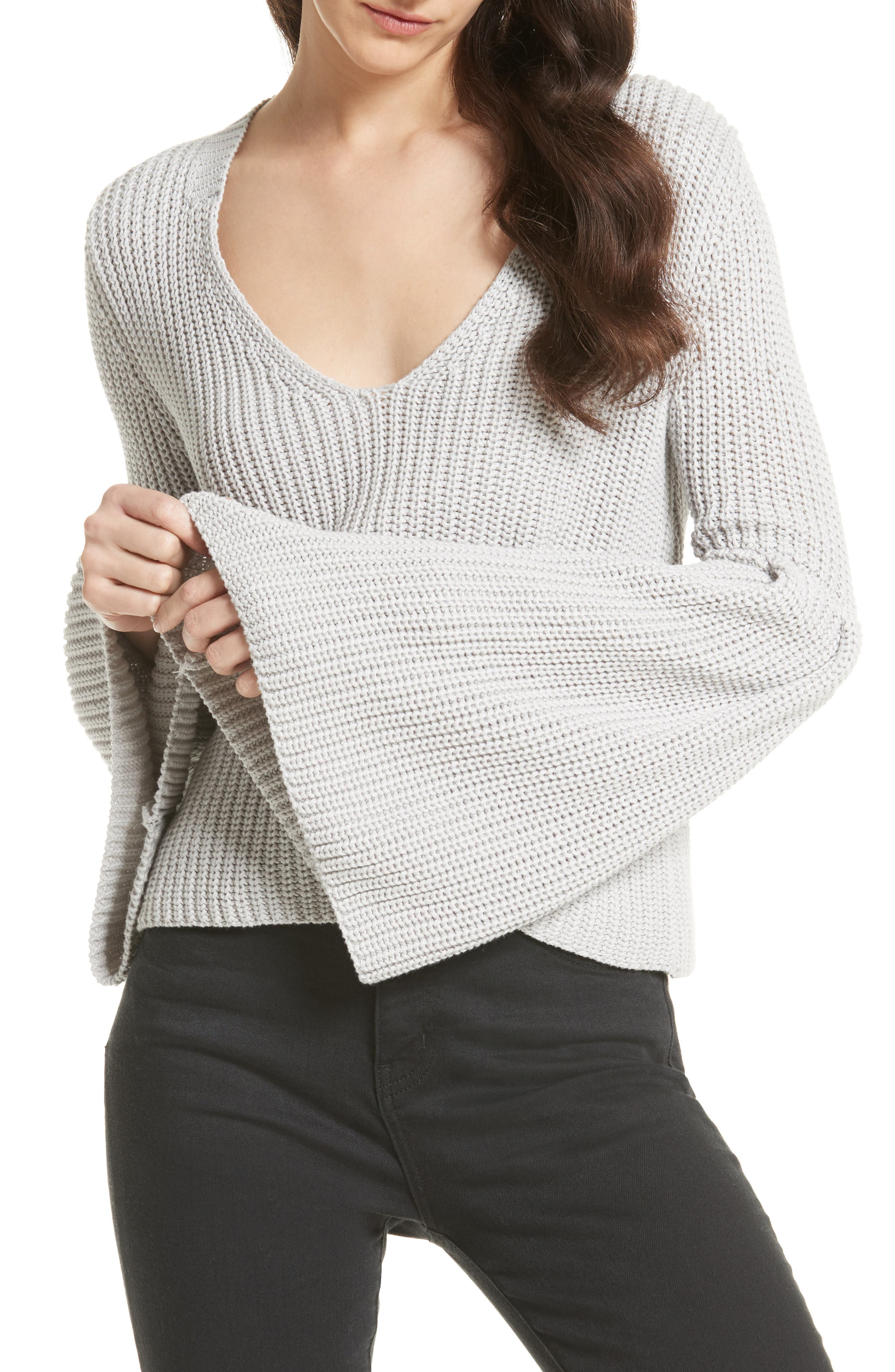 Main Image - Free People Damsel Bell Sleeve Pullover