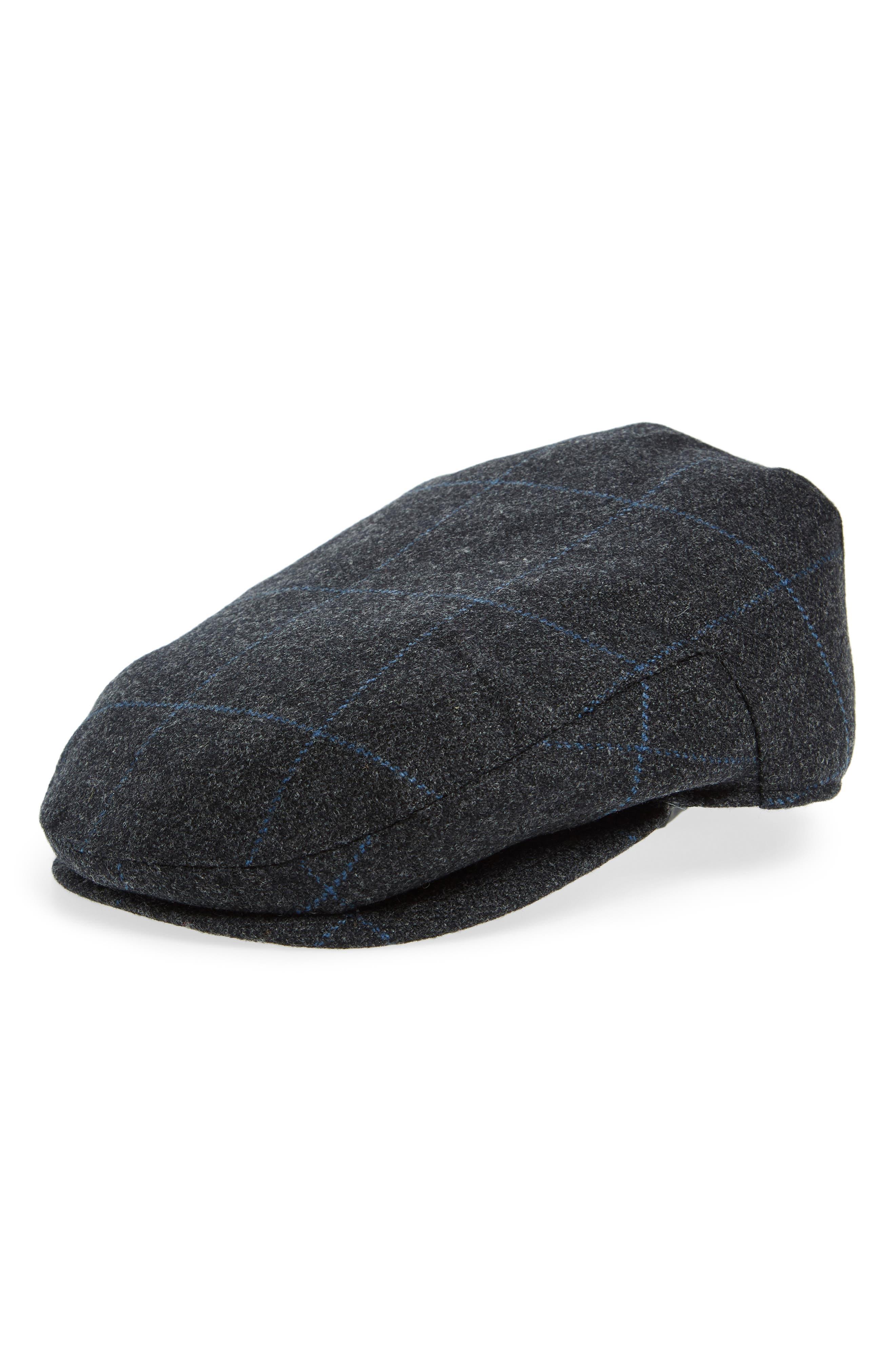 Christy's Brighton Wool Driving Cap