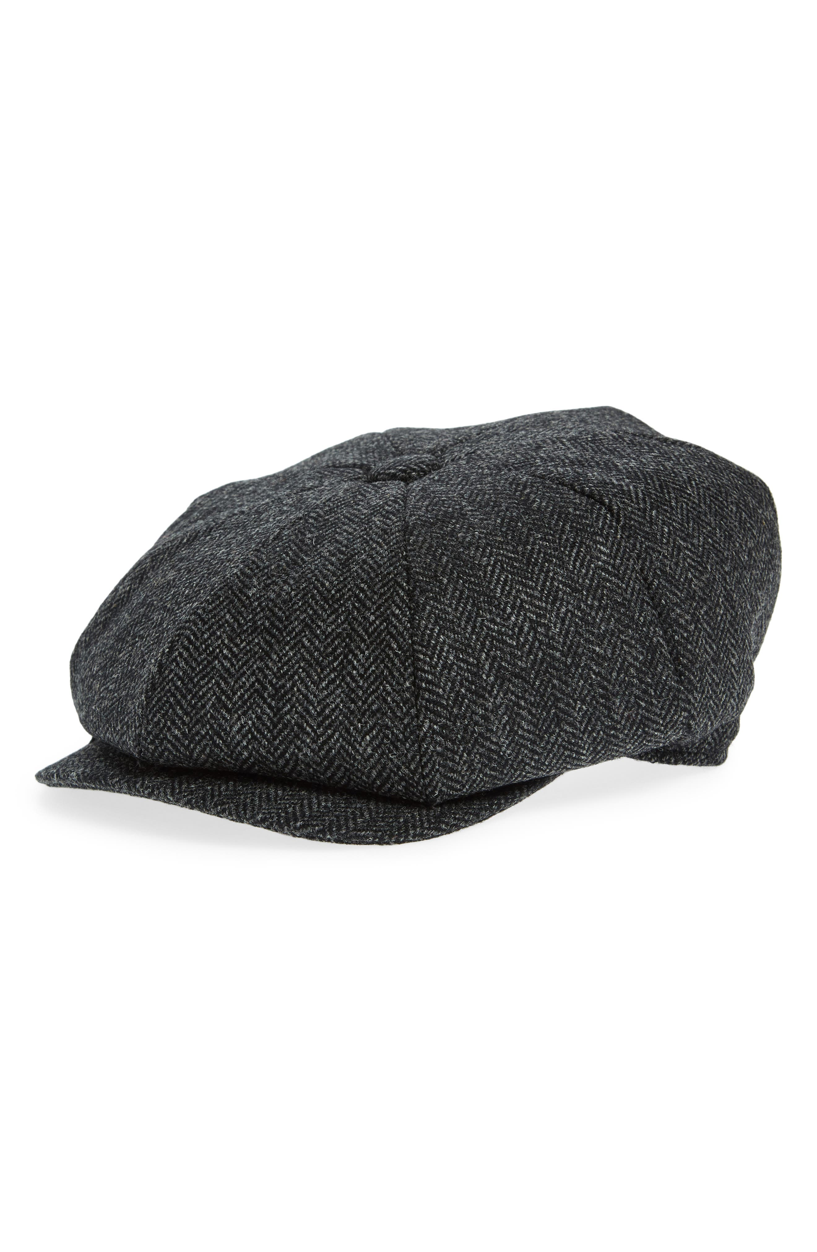 Christy's Baker Boy Wool Driving Cap