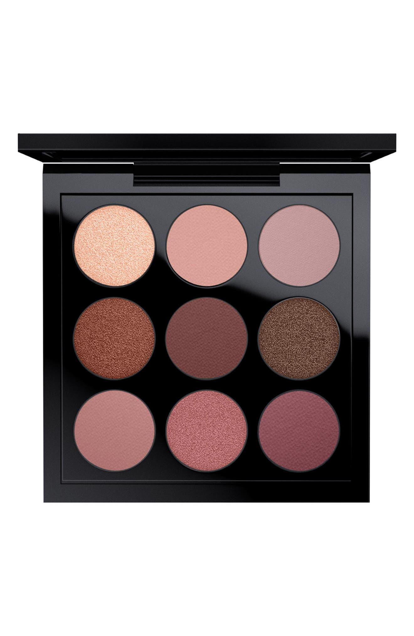 MAC Times Nine Eyeshadow Palette,                         Main,                         color, Burgundy Times Nine