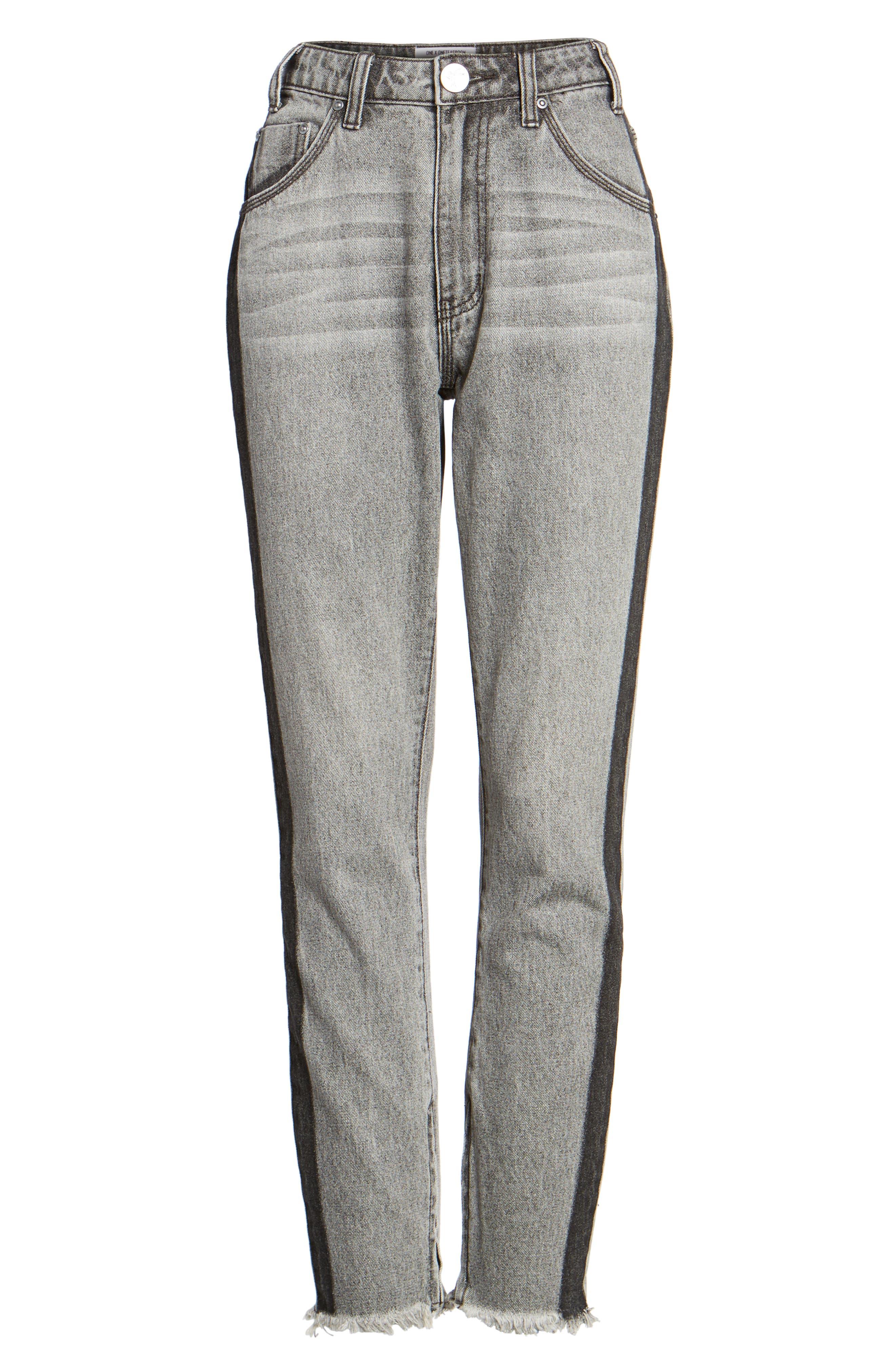 Freebirds High Waist Skinny Jeans,                             Alternate thumbnail 7, color,                             Camden