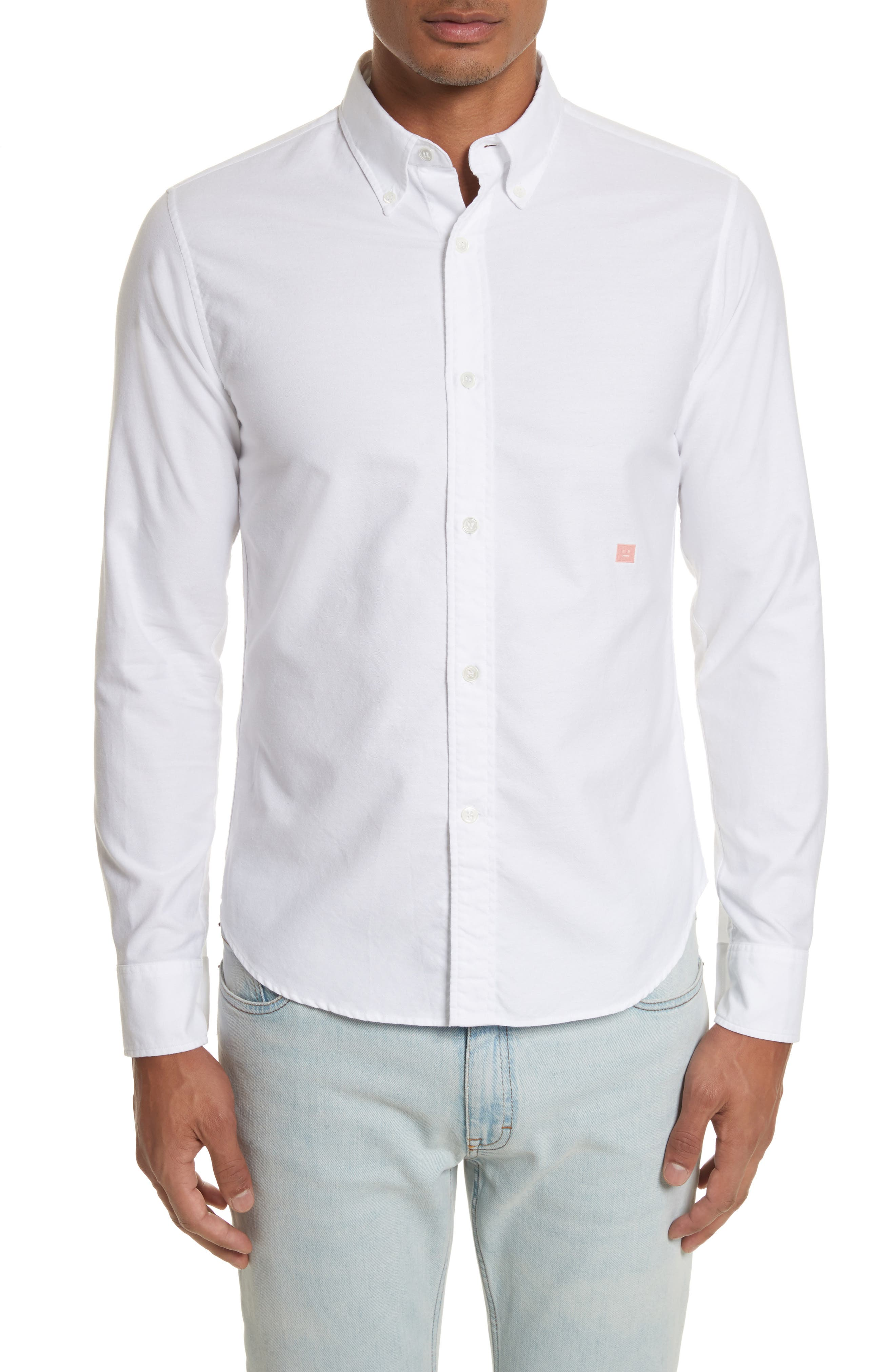 Main Image - ACNE Studios Ohio Face Patch Oxford Shirt