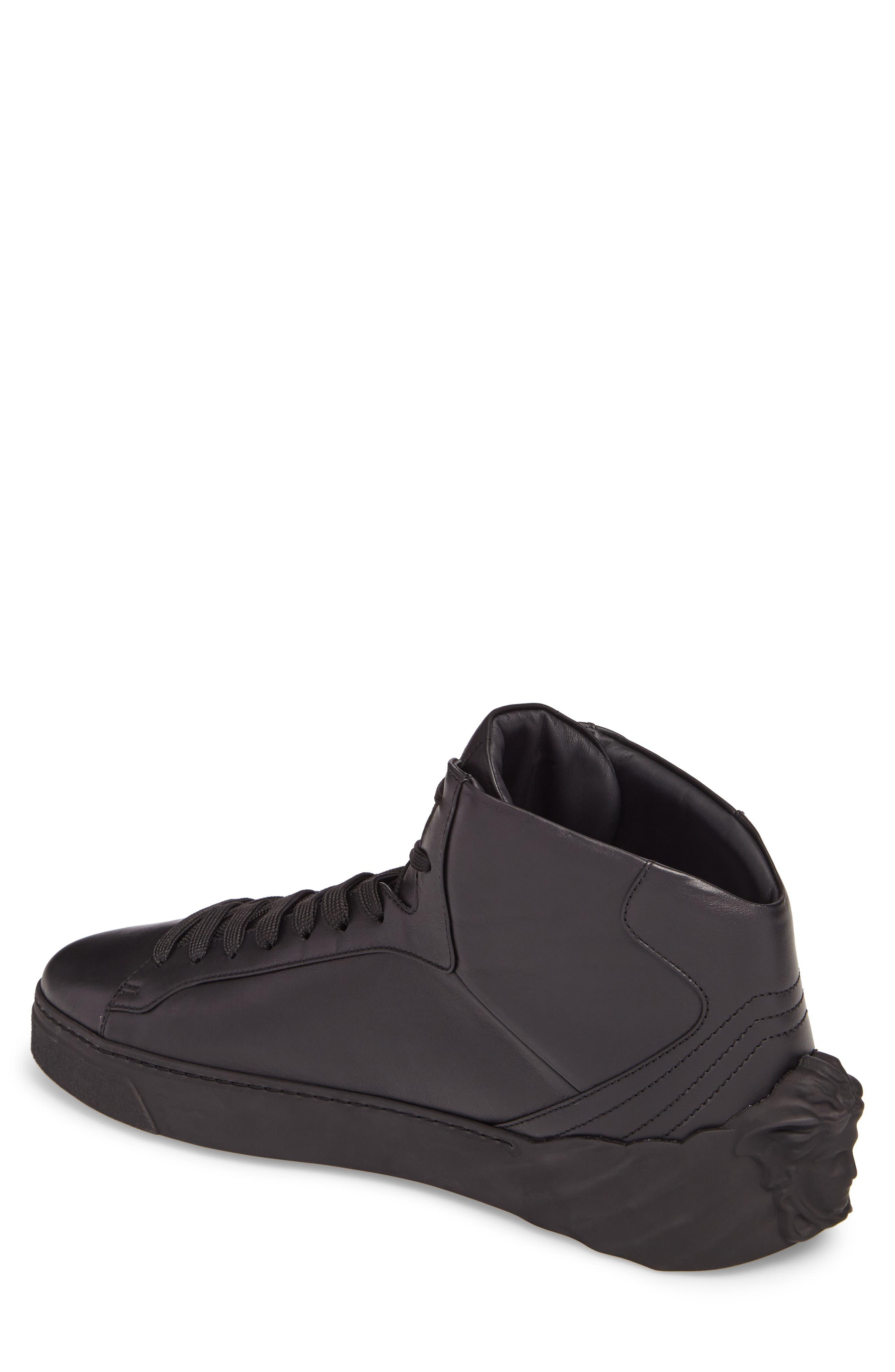 3D Medusa Sneaker,                             Alternate thumbnail 2, color,                             Black