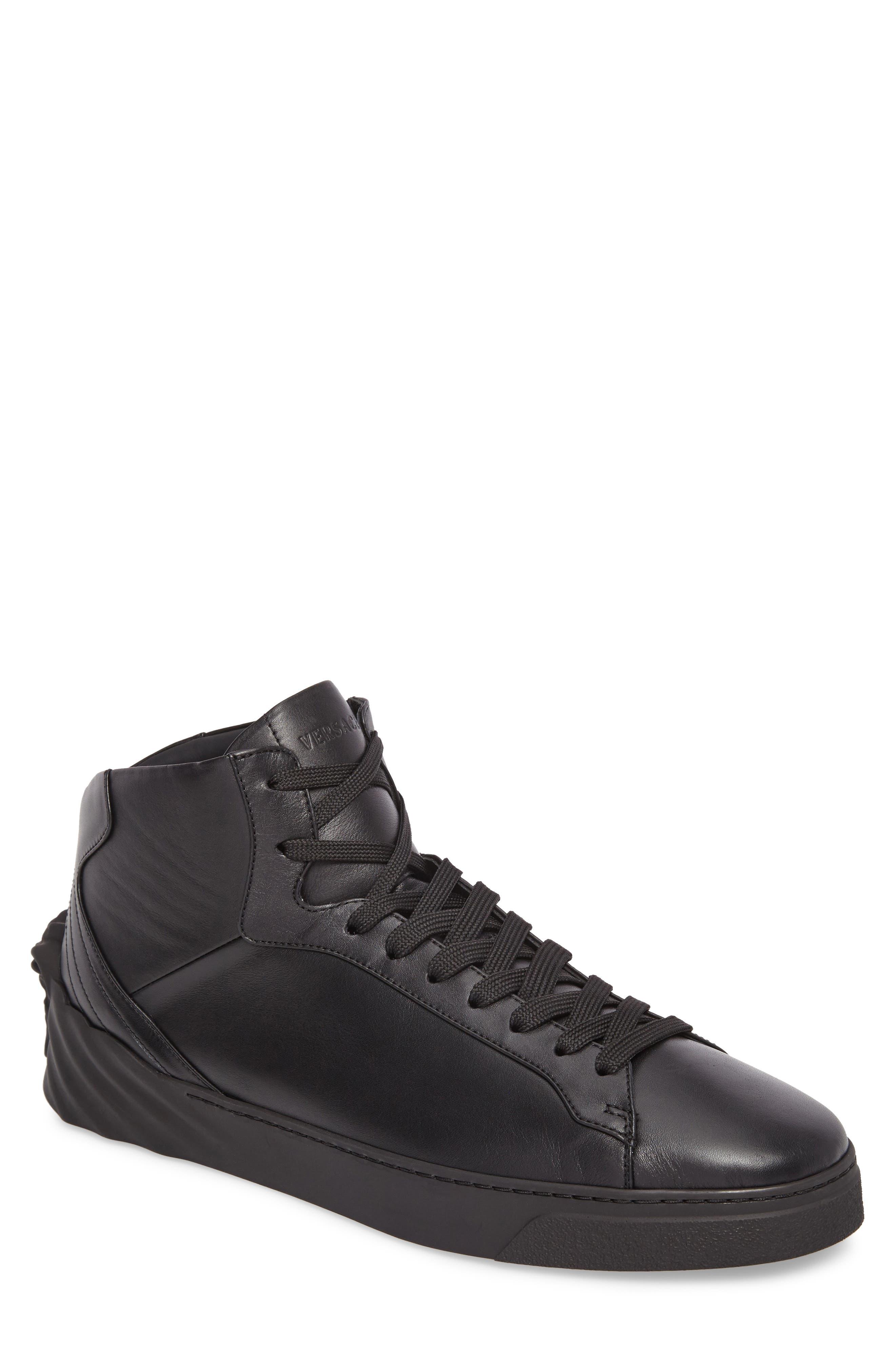 3D Medusa Sneaker,                             Main thumbnail 1, color,                             Black