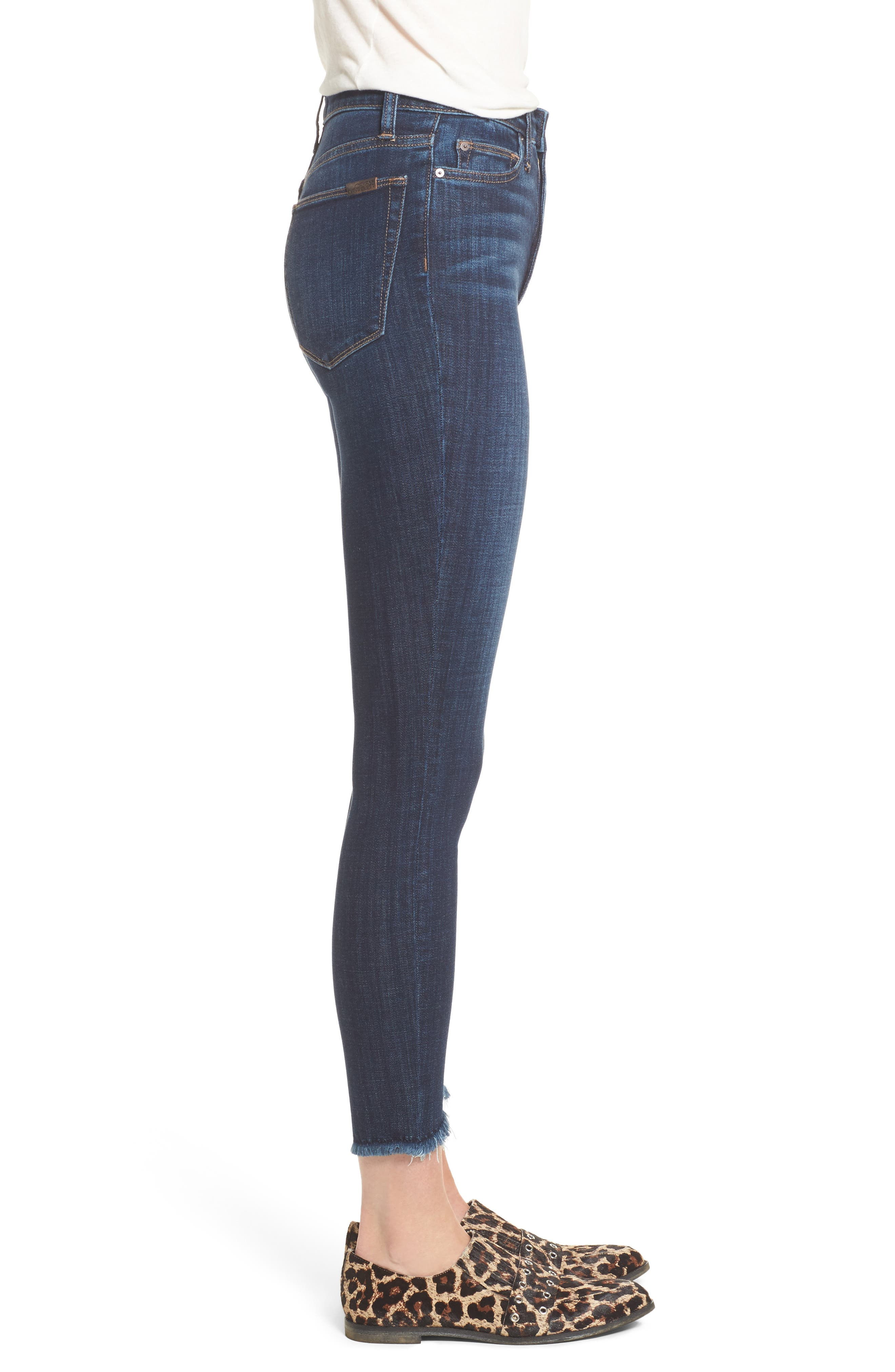 Charlies Blondie Hem Jeans,                             Alternate thumbnail 3, color,                             Marquita