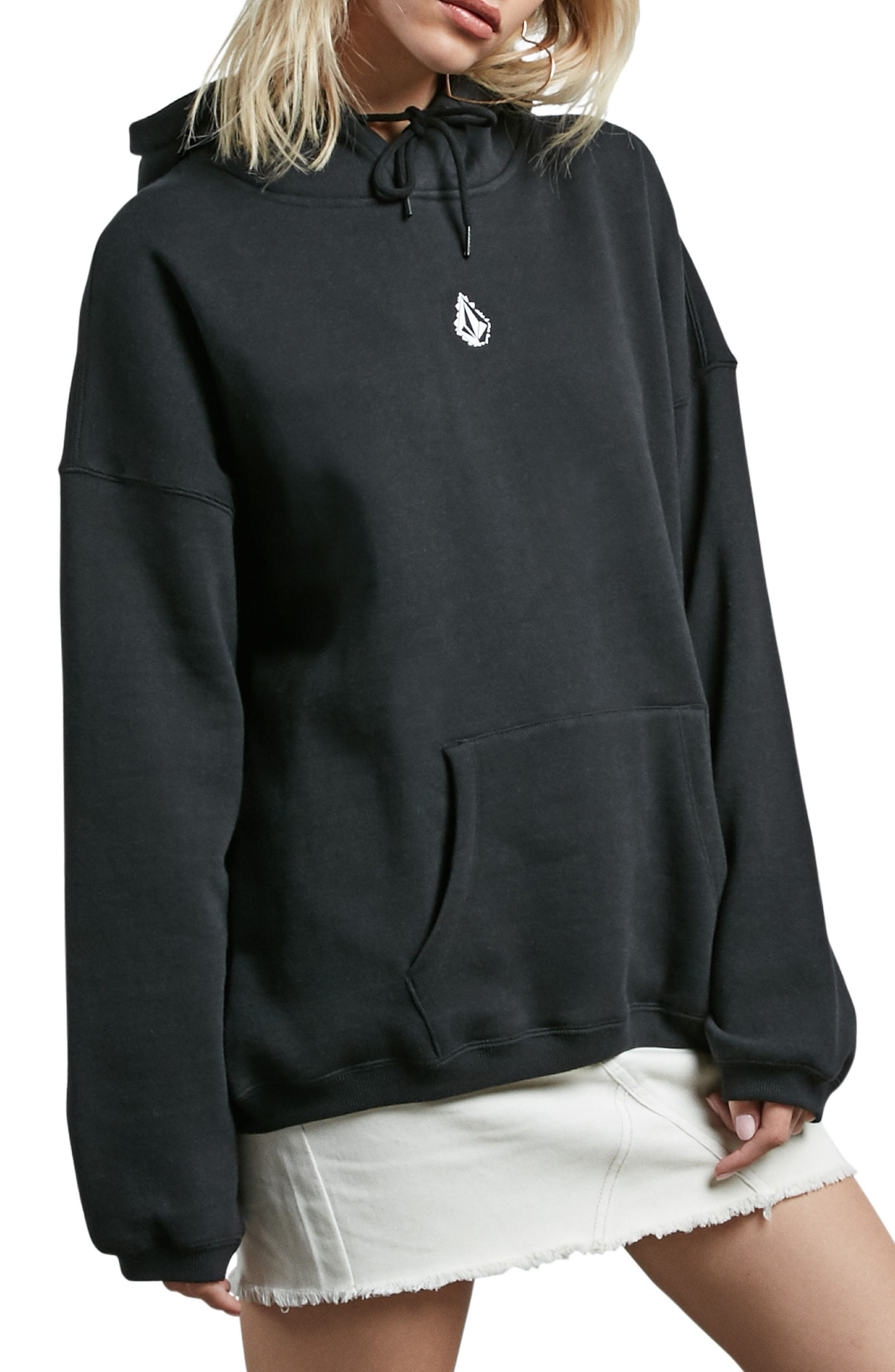 Roll It Up Hoodie,                             Main thumbnail 1, color,                             Black