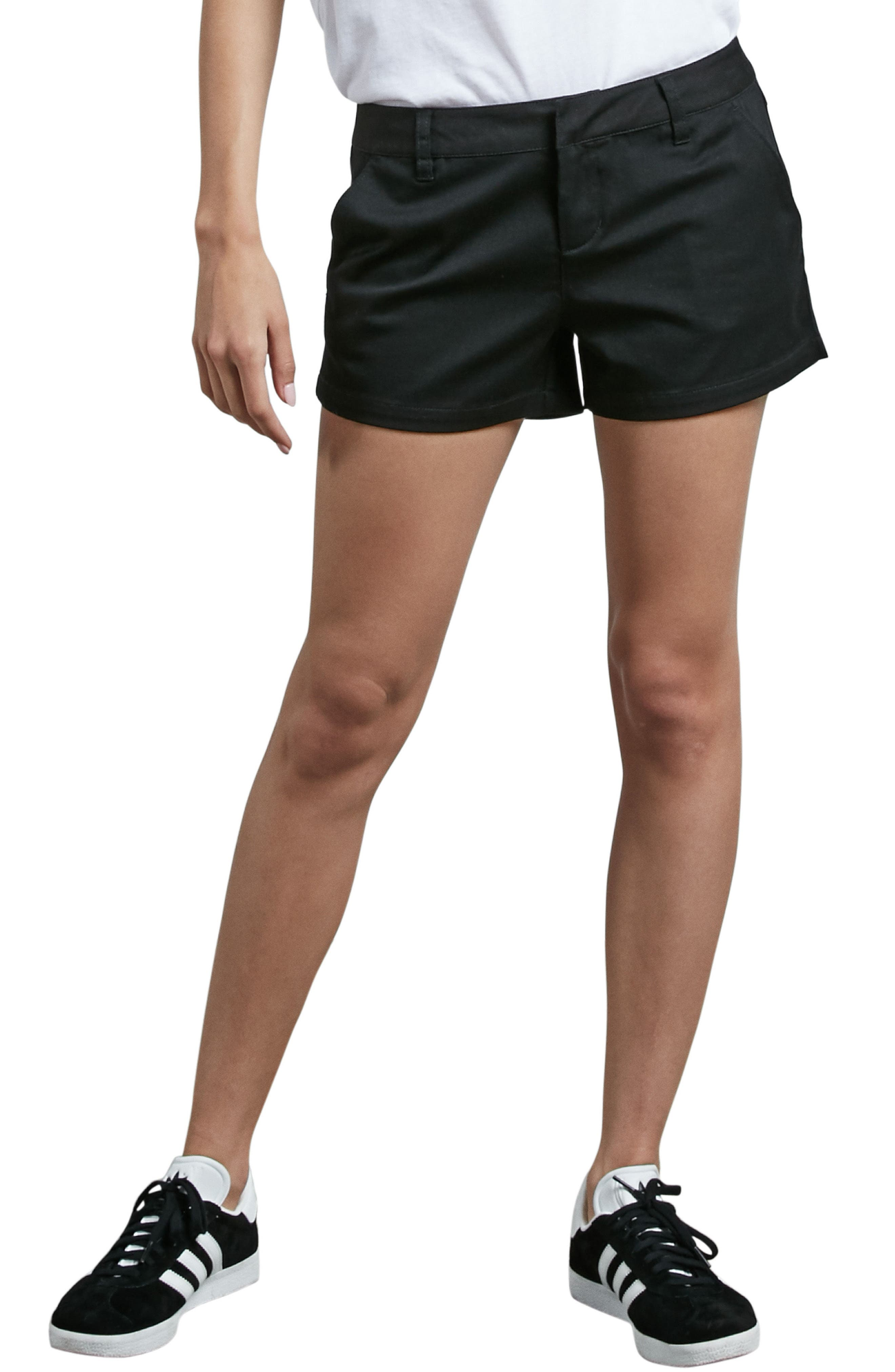 Frochickie Chino Shorts,                         Main,                         color, Black