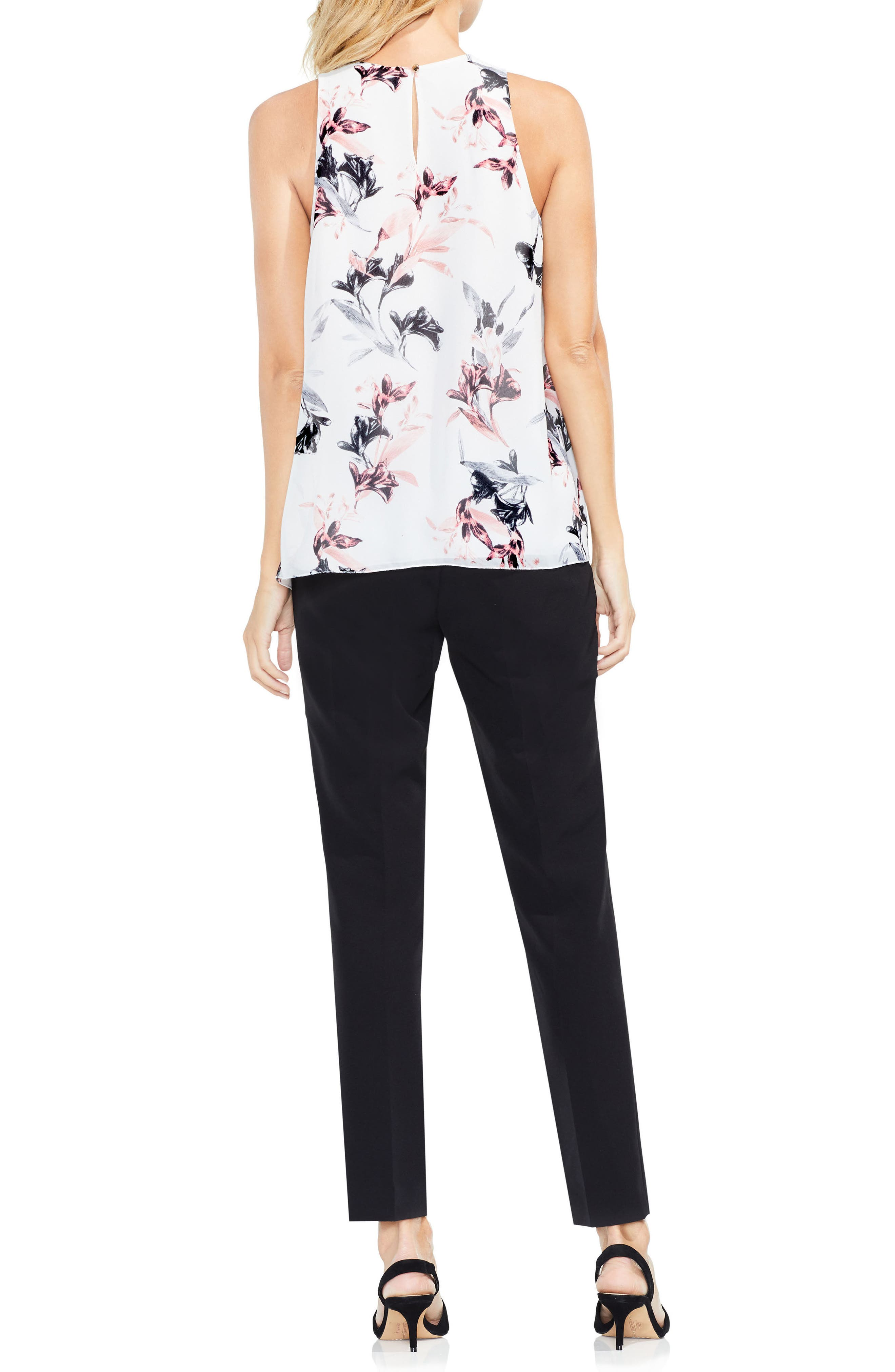 Alternate Image 2  - Vince Camuto Lily Melody Sleeveless Blouse