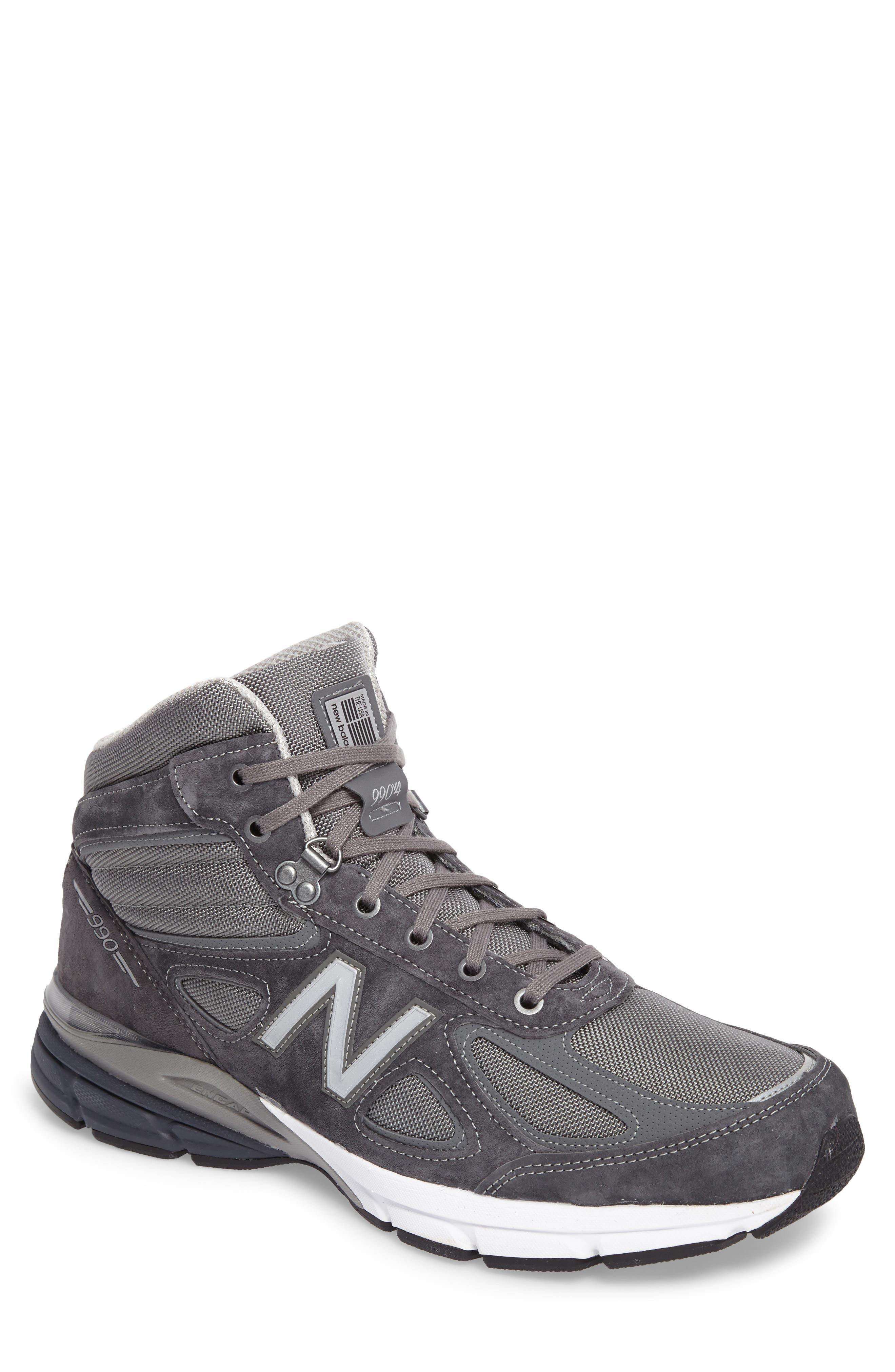 New Balance 990v4 Water Resistant Sneaker Boot (Men)