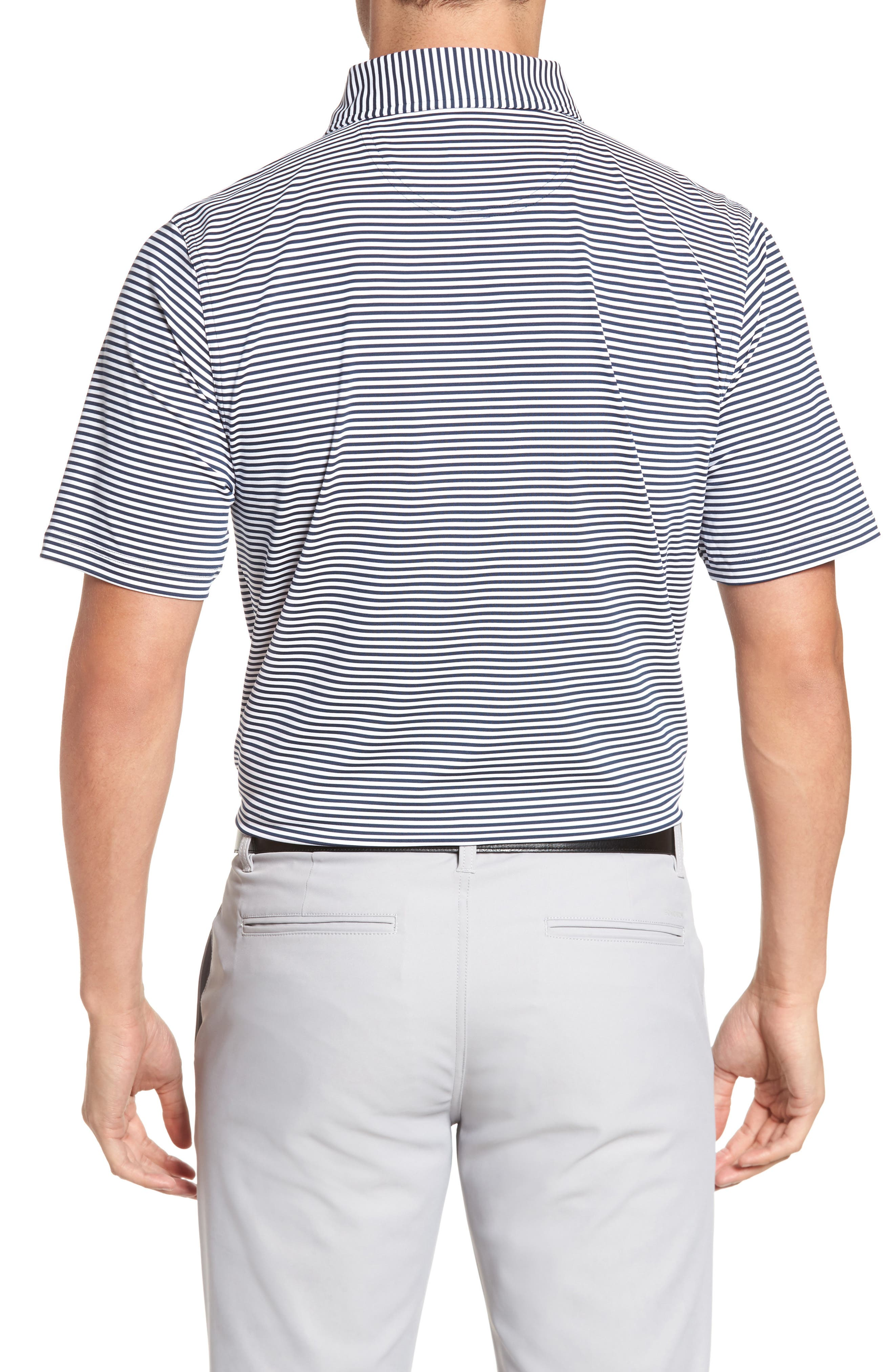 XH20 Ranger Stripe Polo,                             Alternate thumbnail 2, color,                             Midnight Ink