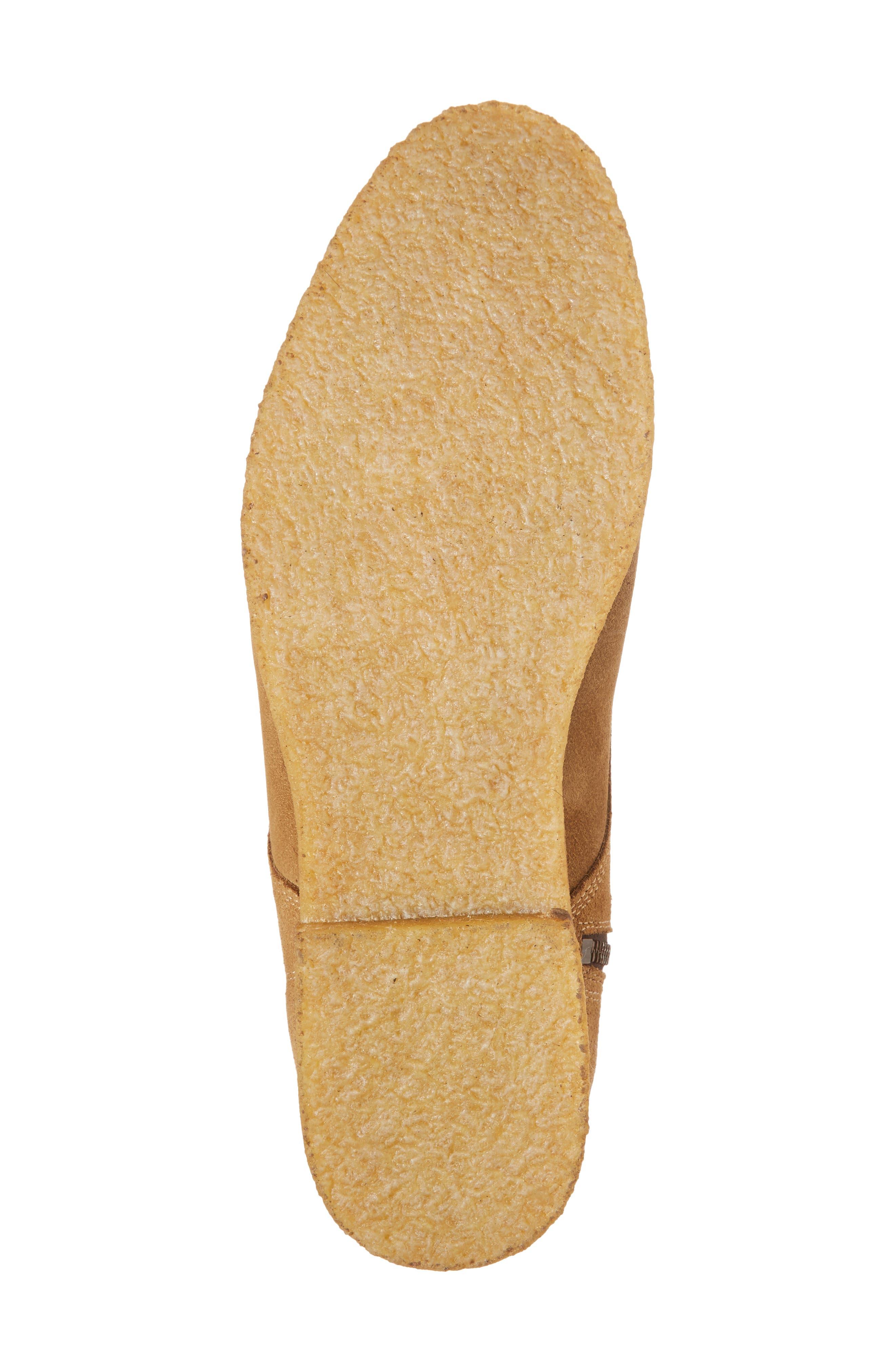 Jonah Plain Toe Boot,                             Alternate thumbnail 6, color,                             Sand Suede