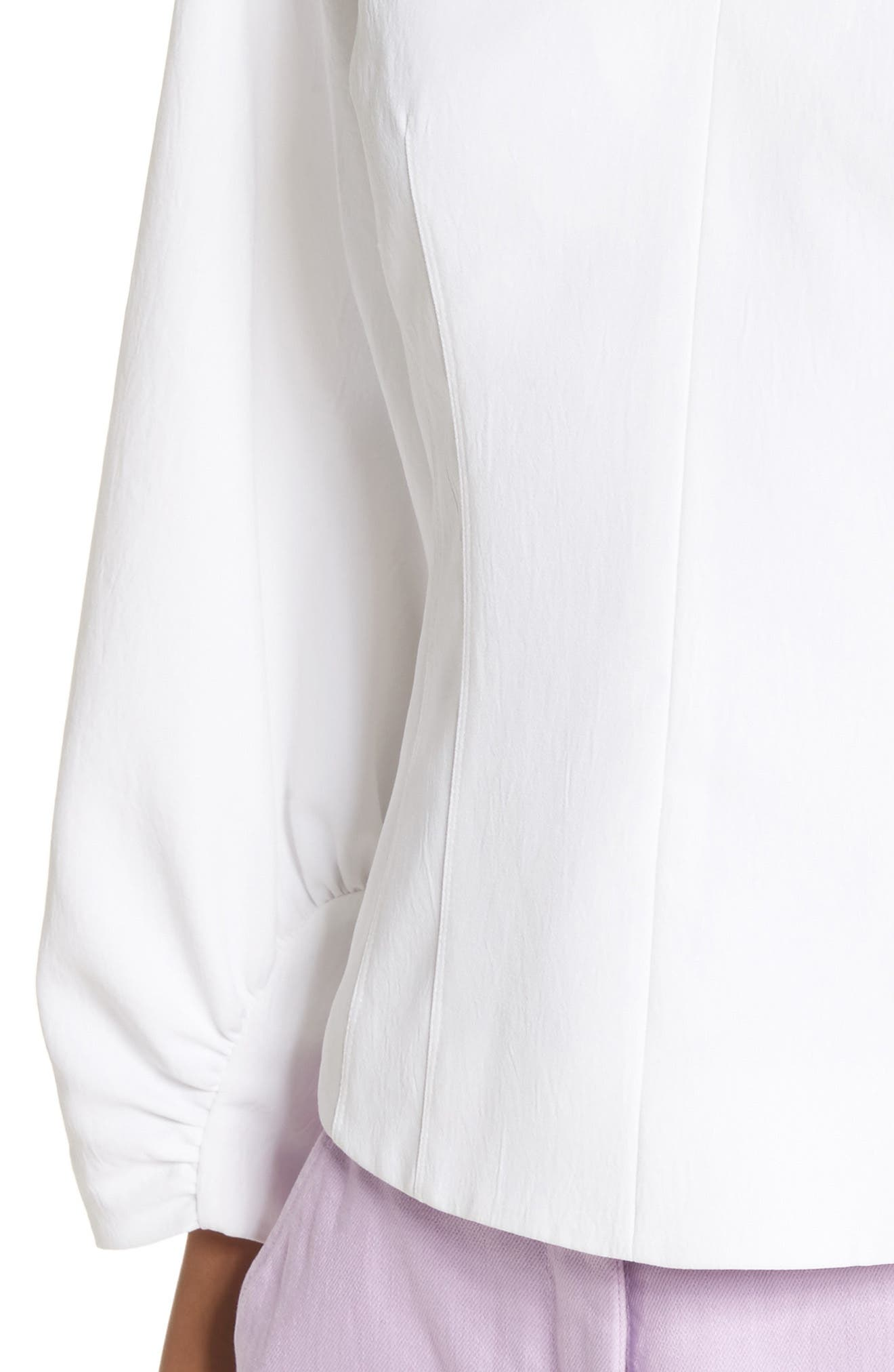 Alternate Image 4  - Tibi Cinched Sleeve Top