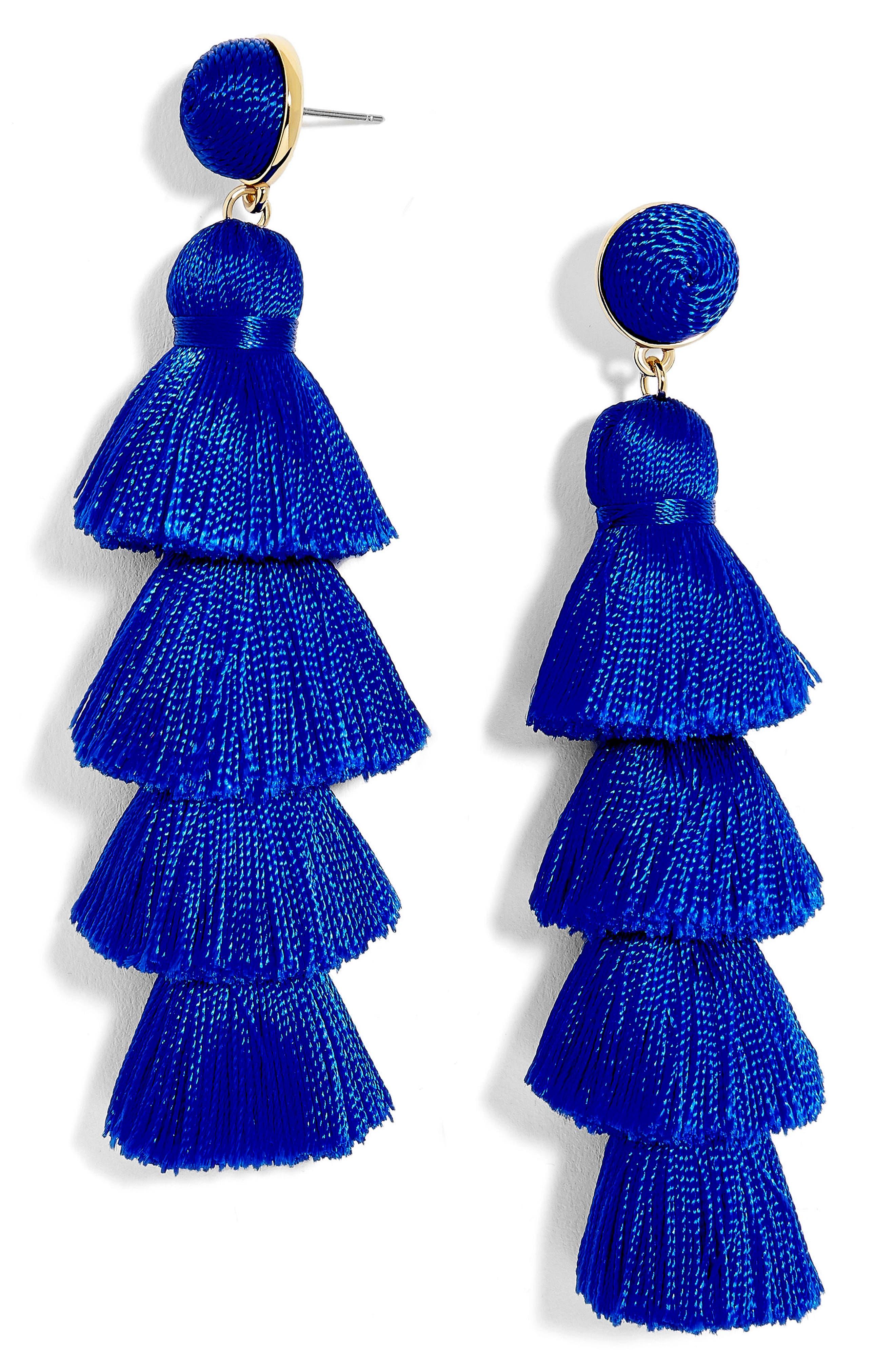 Alternate Image 1 Selected - BaubleBar Gabriela Tassel Fringe Earrings