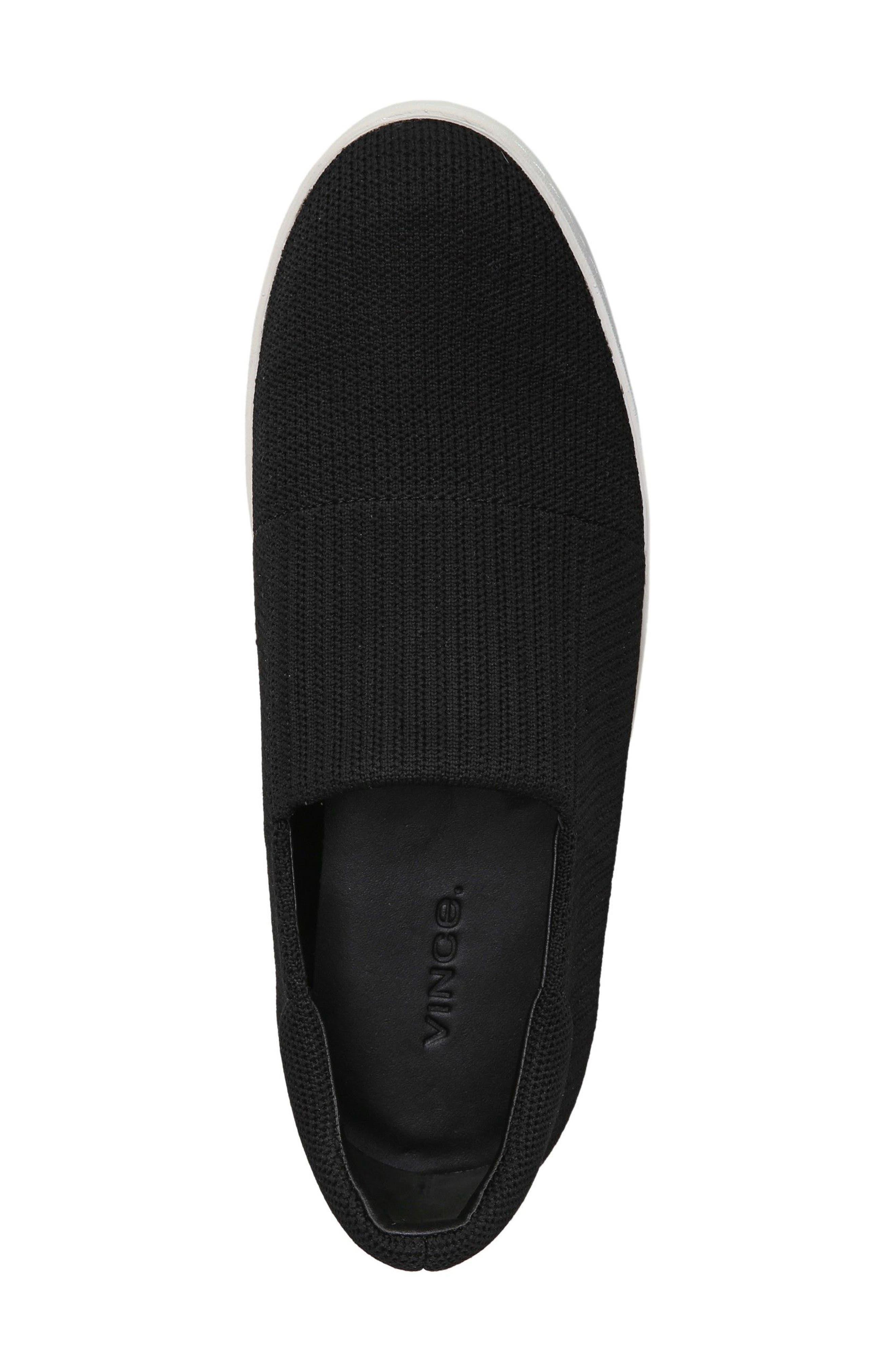 Walsh Slip-On Sneaker,                             Alternate thumbnail 5, color,                             Black