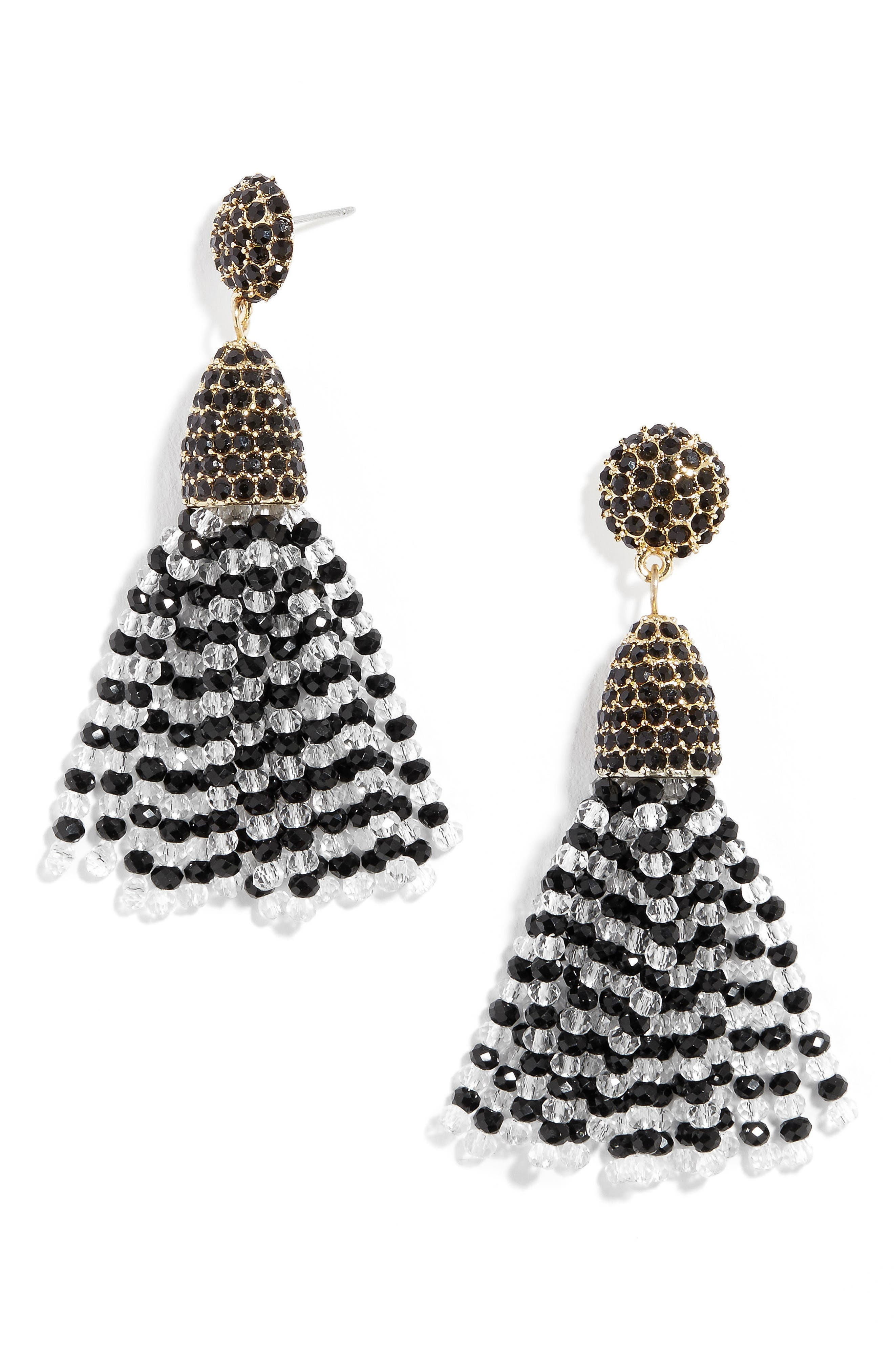 Main Image - BaubleBar Annabelle Mini Tassel Drop Earrings