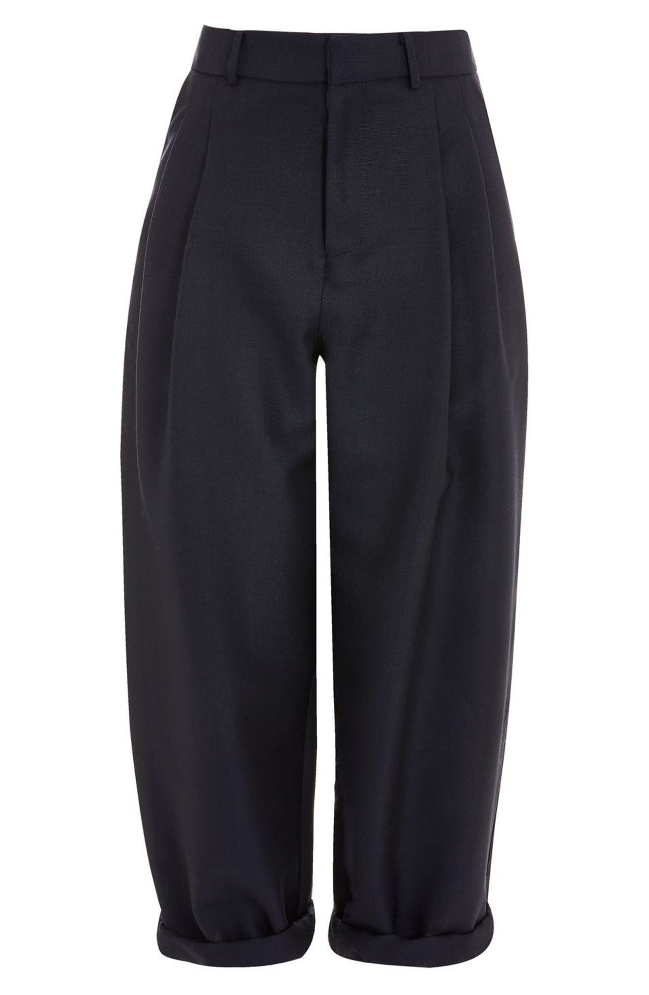 Alternate Image 3  - Topshop Boutique Nords Mensy Trousers