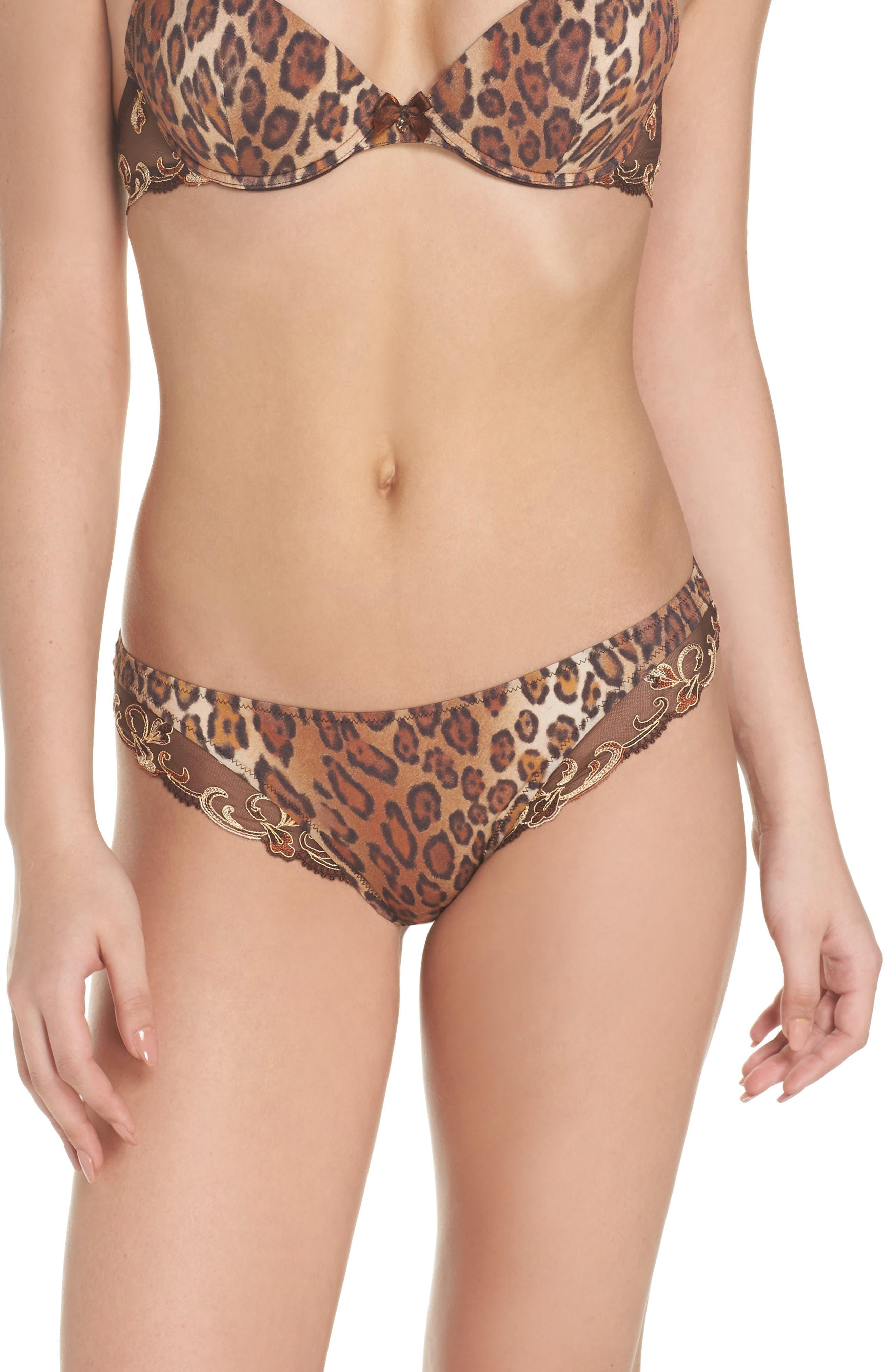 Distinction Fauve Panties,                         Main,                         color, Moka Fauve