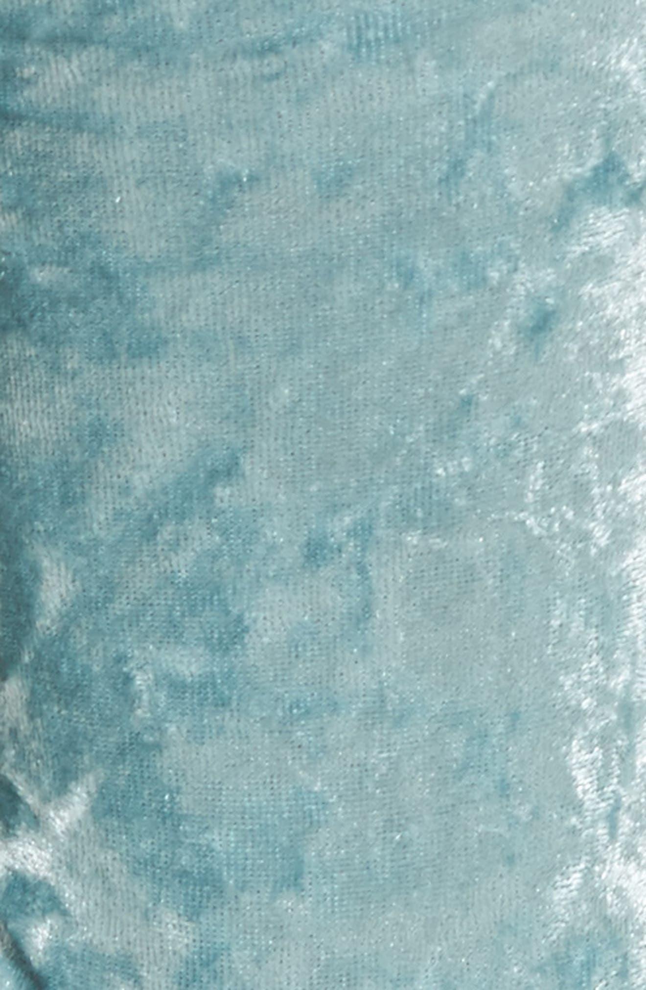Alternate Image 2  - Nordstrom Crushed Velvet Socks