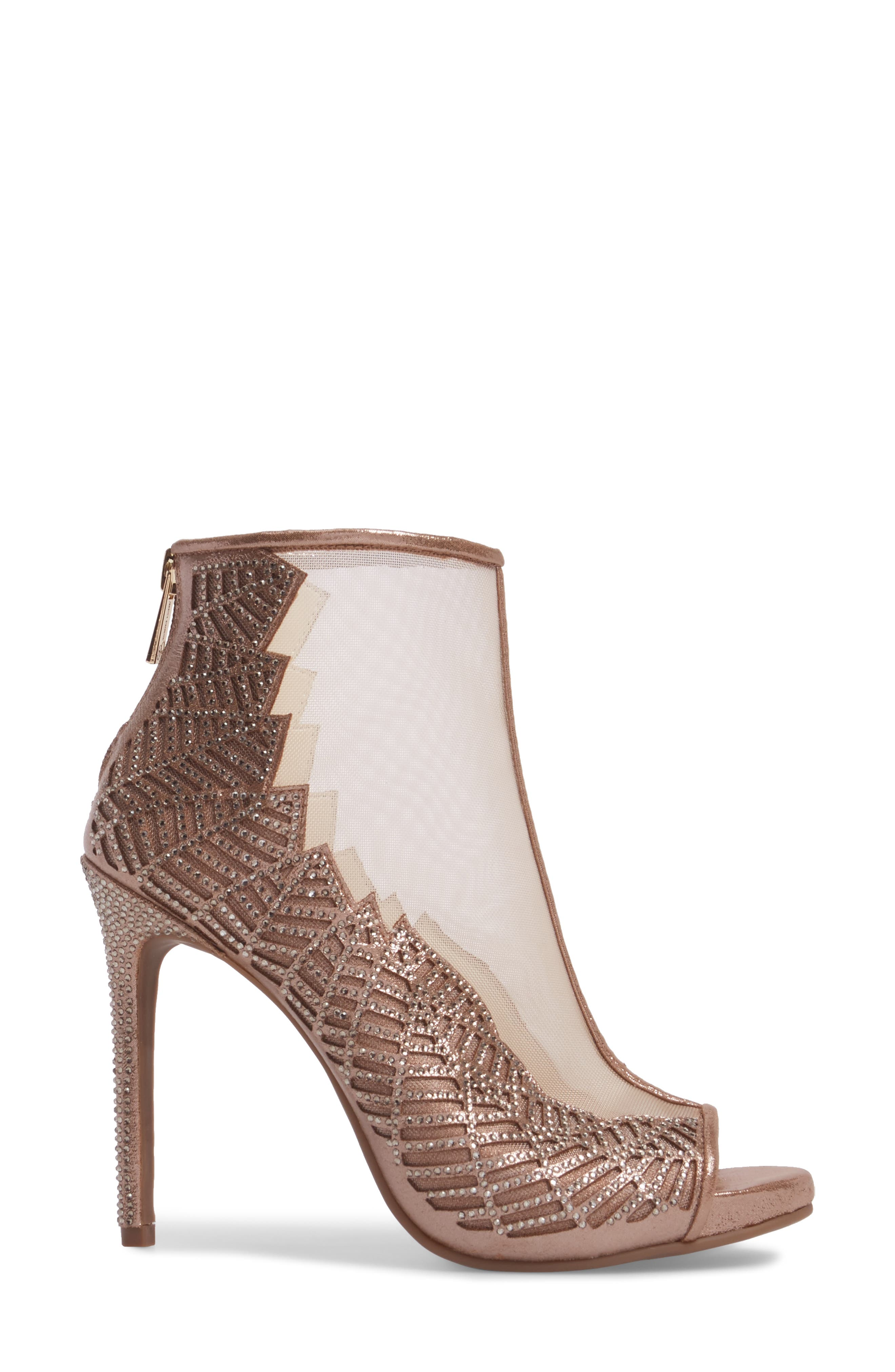 Radko Embellished Sandal,                             Alternate thumbnail 3, color,                             Light Sheer Mesh