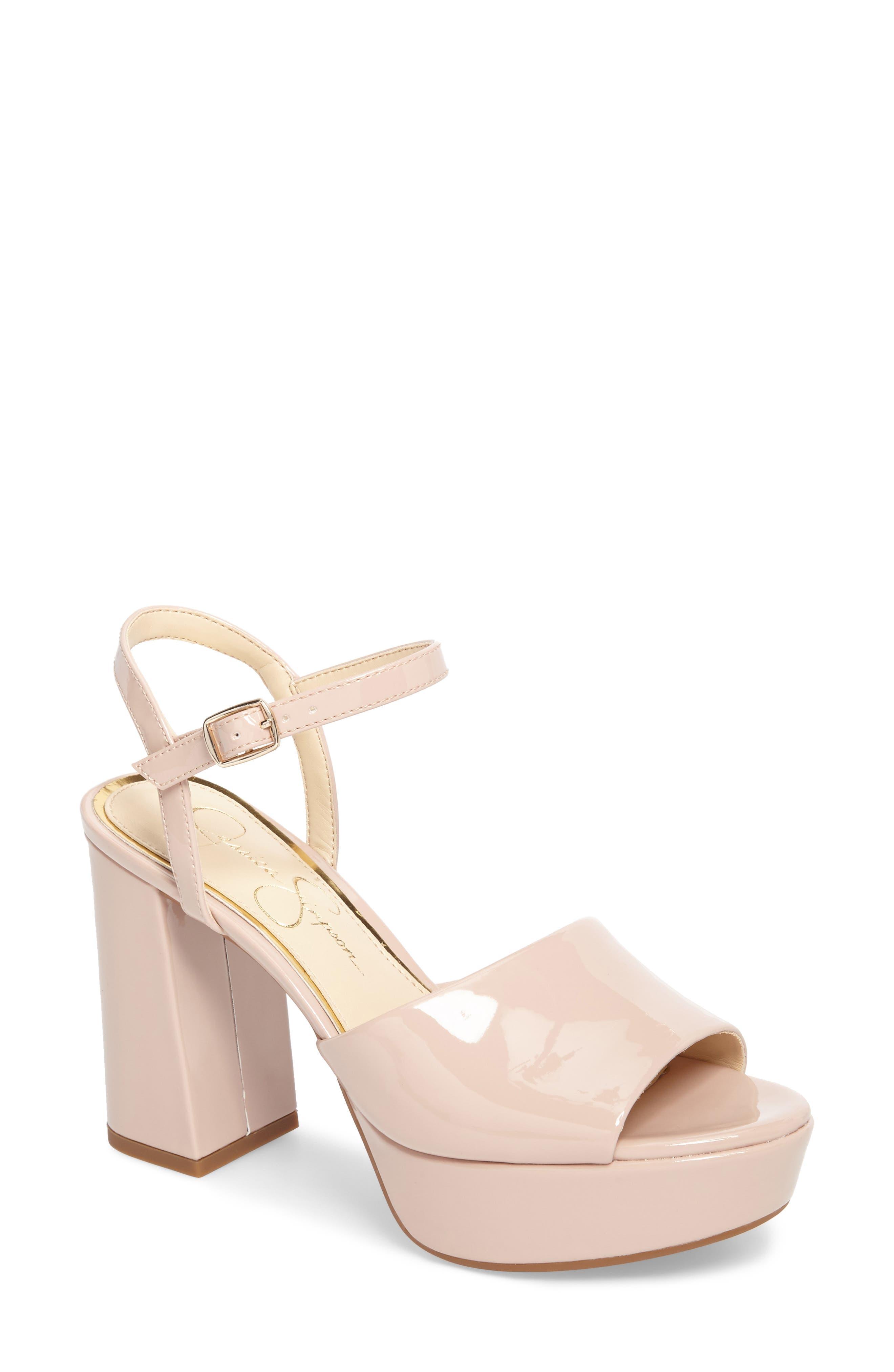 Alternate Image 1 Selected - Jessica Simpson Kerrick Platform Sandal (Women)