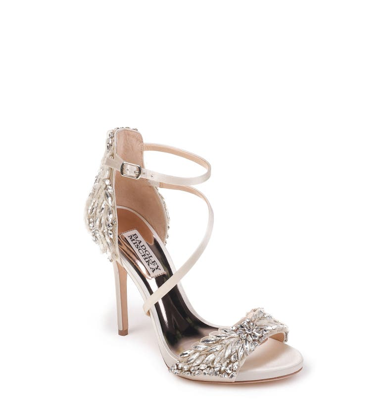 Bridal Shoes At Nordstrom: Badgley Mischka Selena Strappy Sandal (Women)