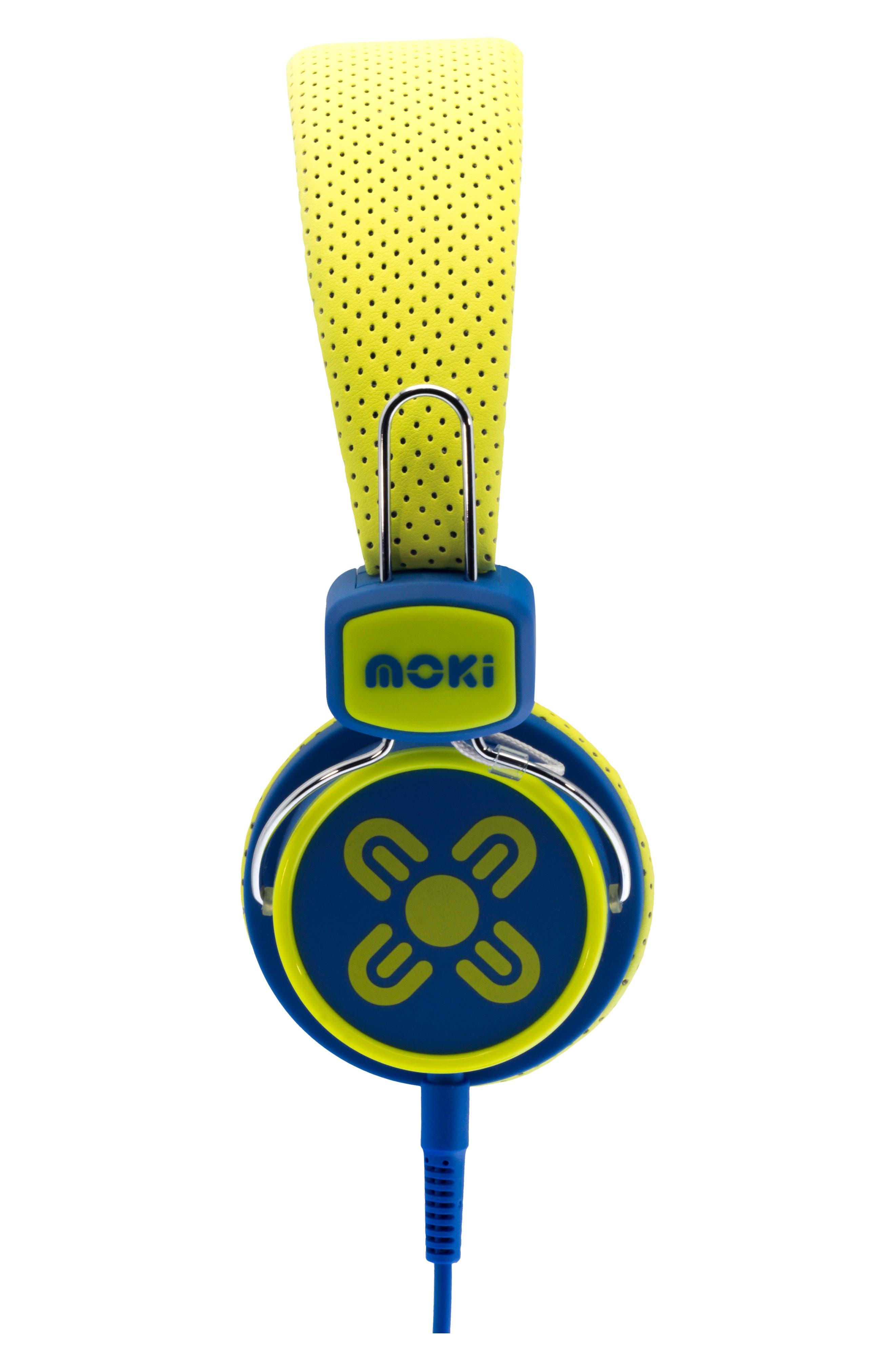 Alternate Image 3  - Moki Volume Limited Headphones (Kids)