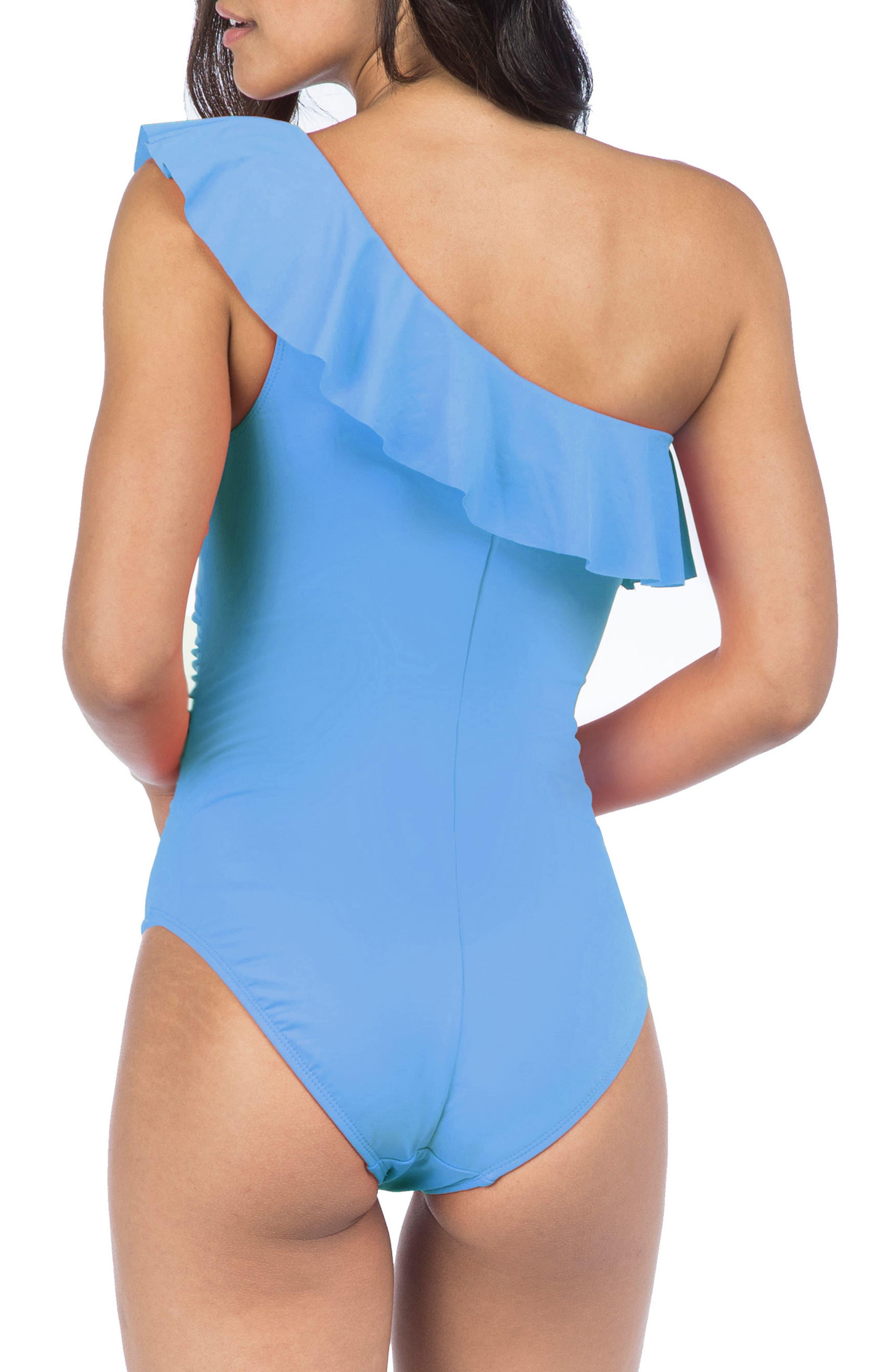 Alternate Image 2  - La Blanca Flirtatious One-Piece Swimsuit