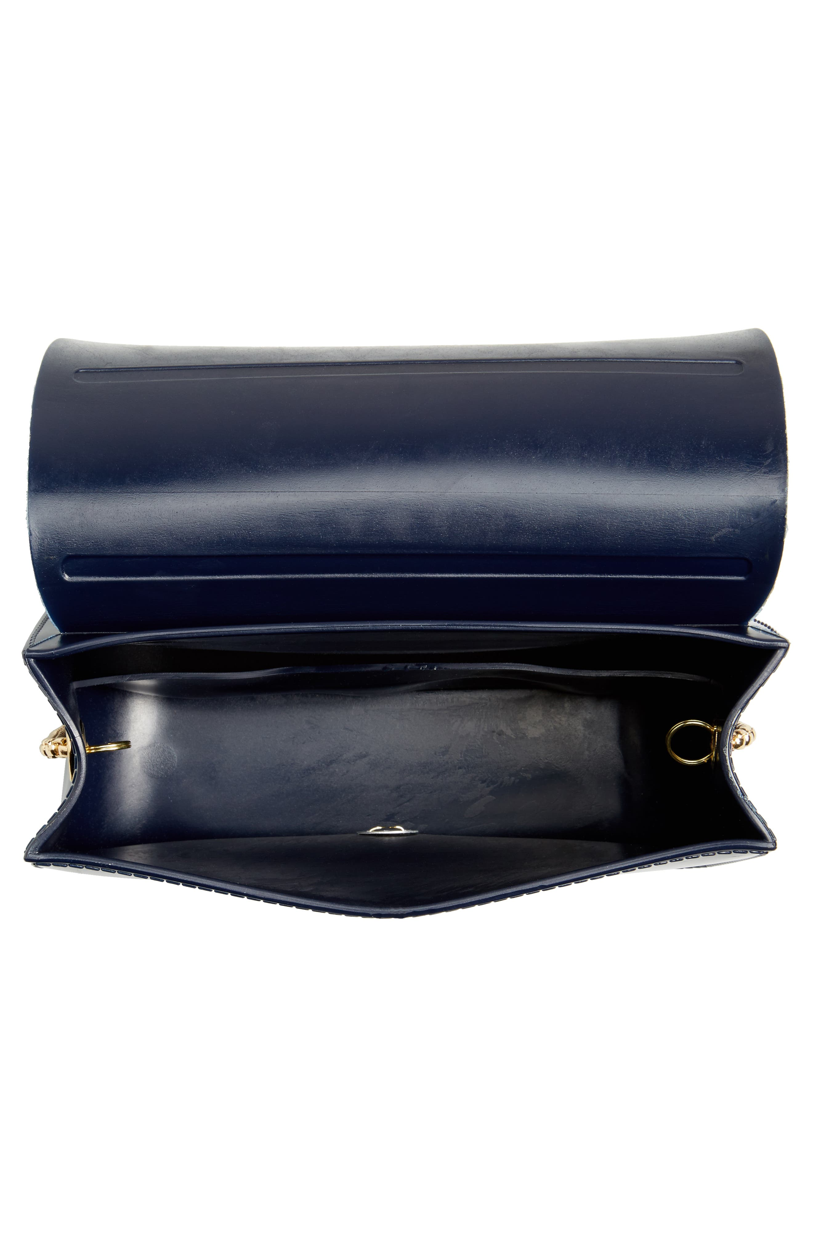 Jelly Shoulder Bag,                             Alternate thumbnail 4, color,                             Navy