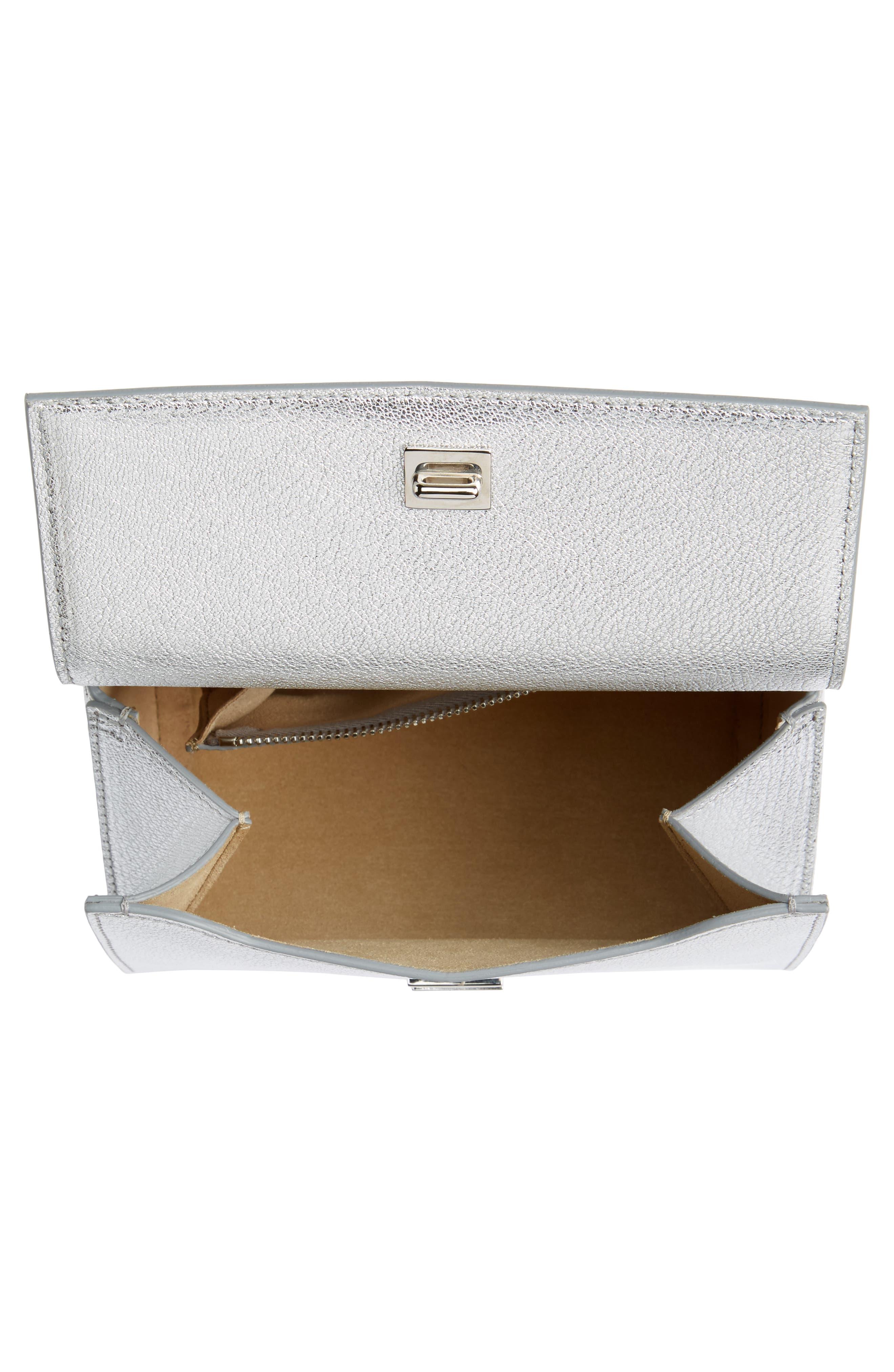 Alternate Image 3  - Givenchy Pandora Metallic Leather Satchel