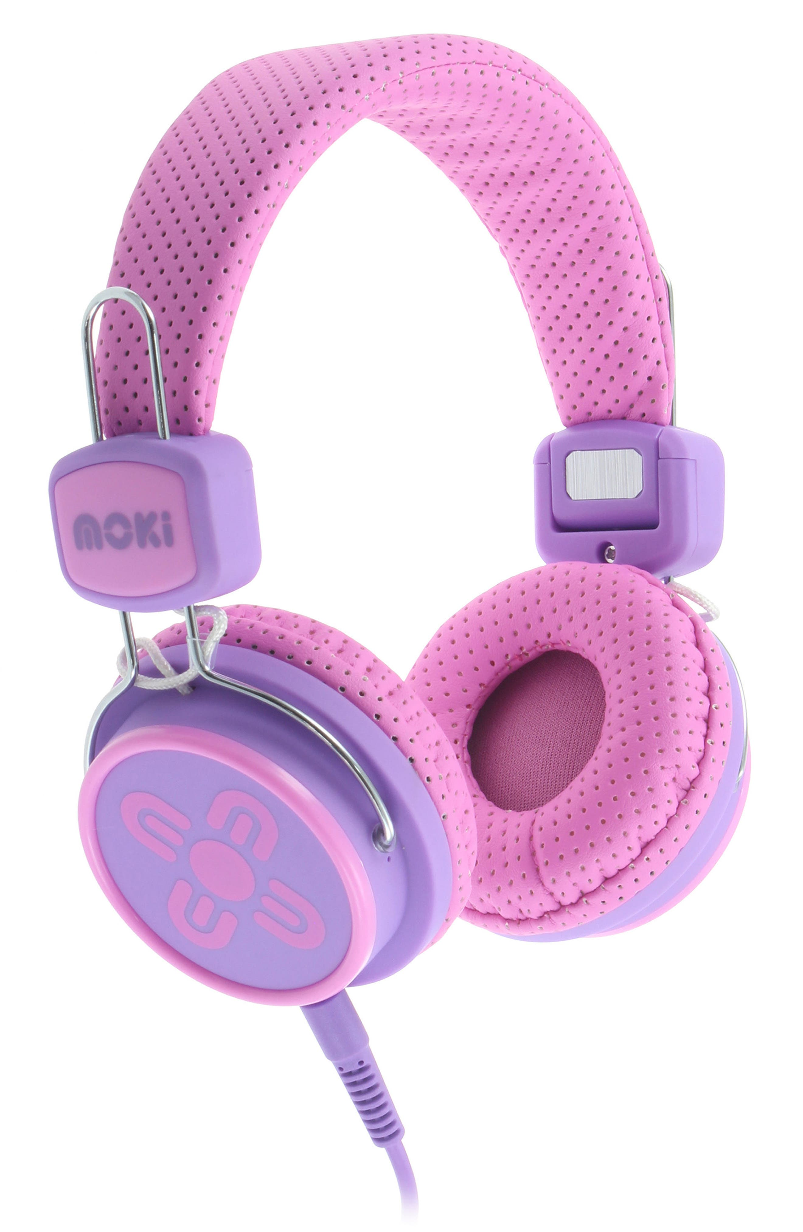 Volume Limited Headphones,                             Main thumbnail 1, color,                             Pink/ Purple