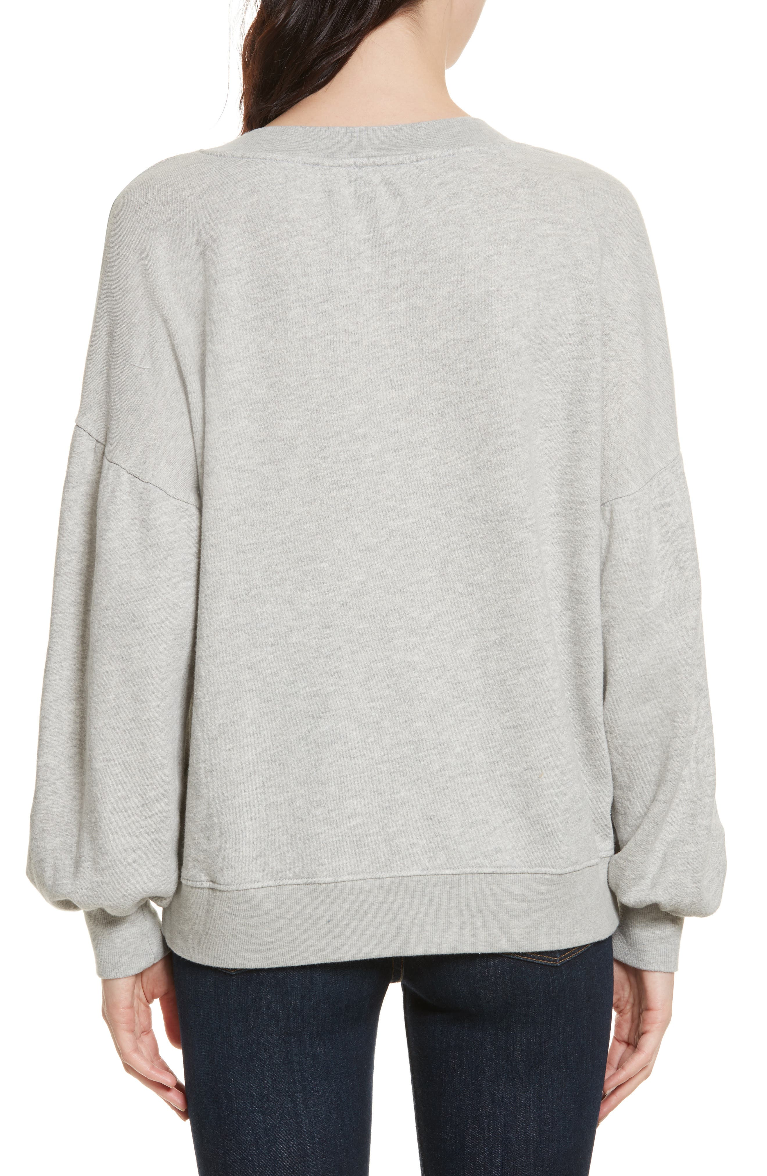 Alternate Image 2  - Joie Isae Bishop Sleeve Sweatshirt