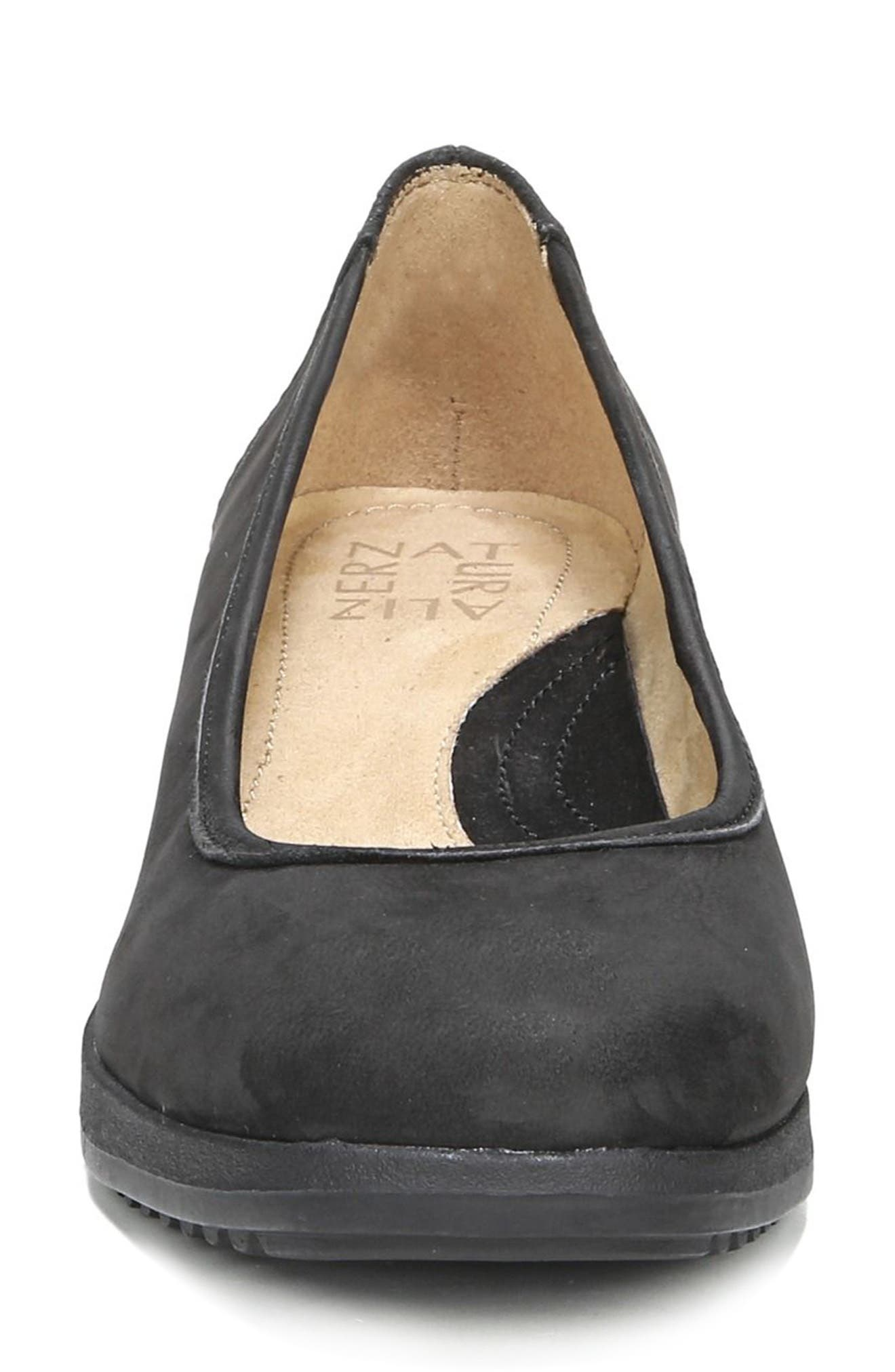 Betina Wedge,                             Alternate thumbnail 4, color,                             Black Nubuck