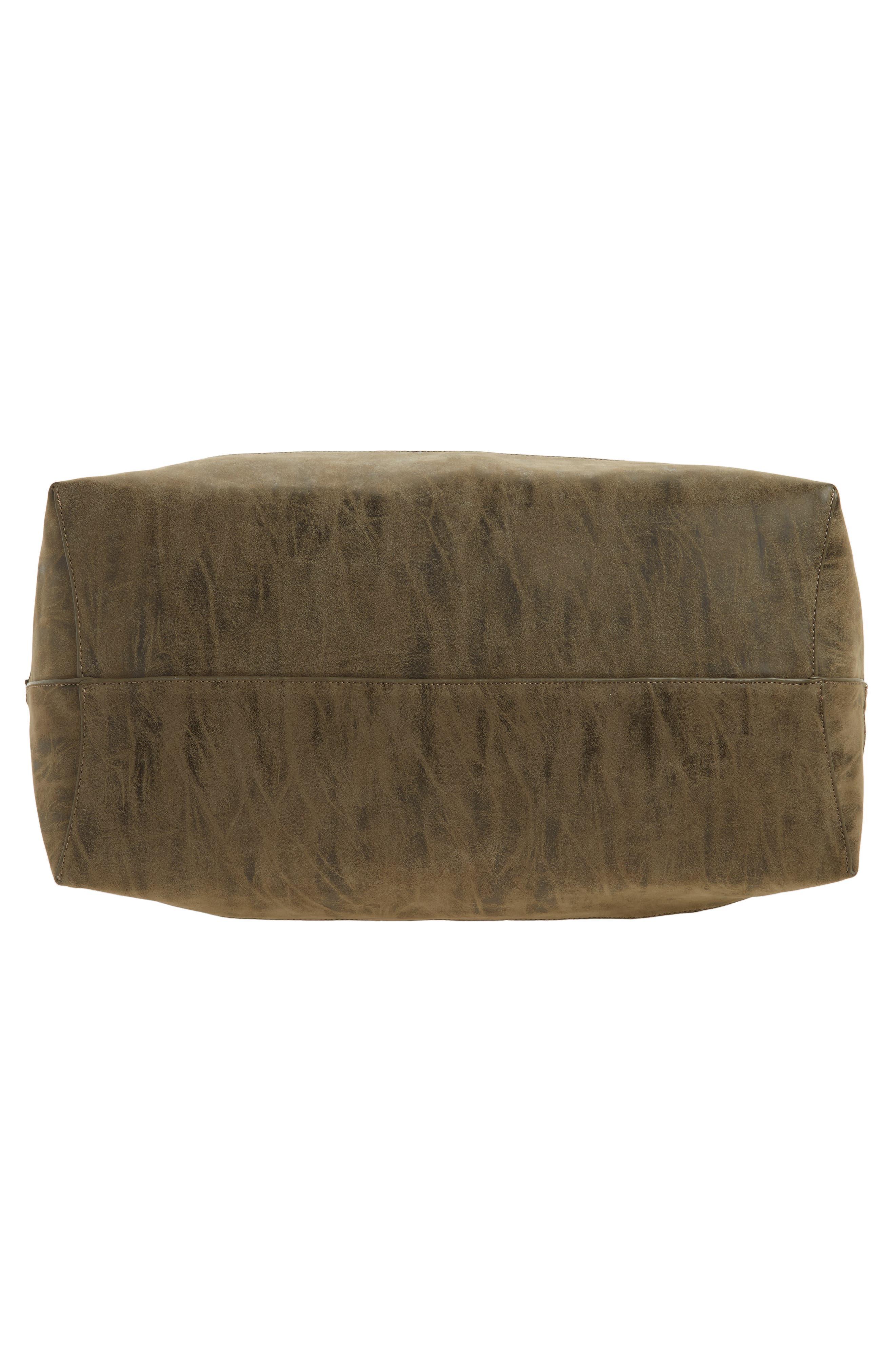 Alternate Image 6  - Sole Society Venti Velvet Duffel Bag