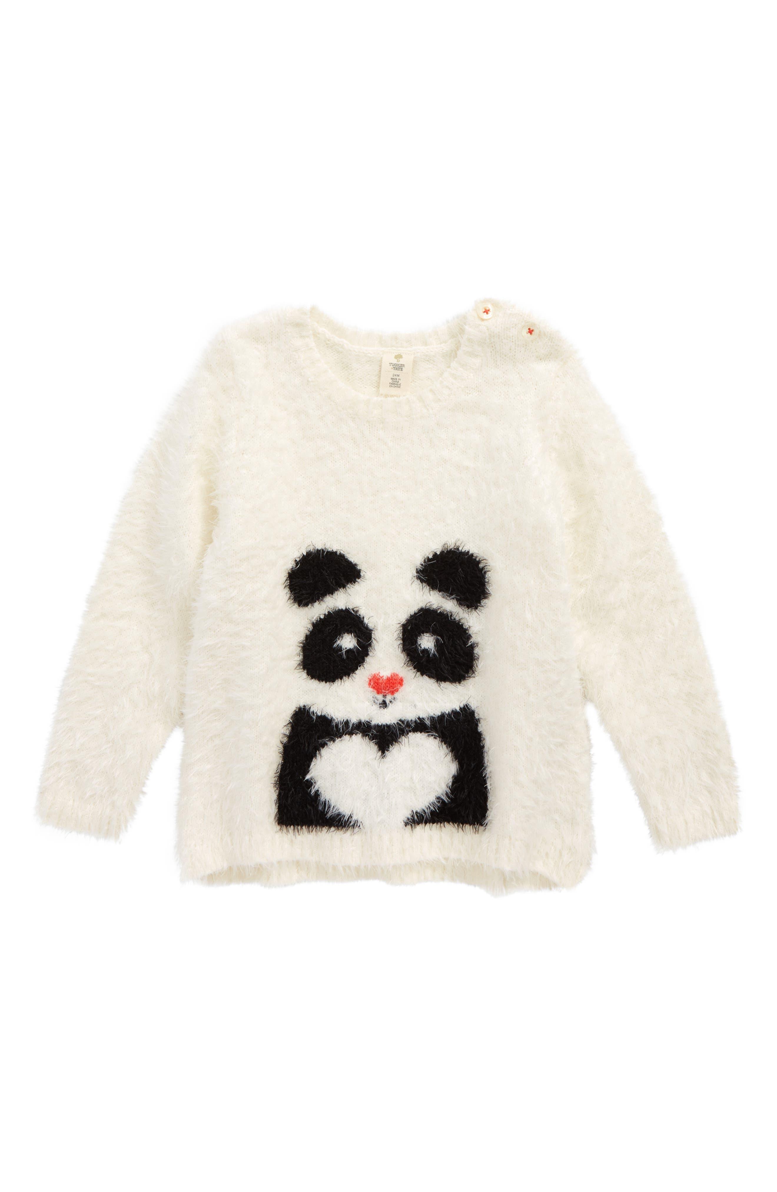 Alternate Image 1 Selected - Tucker + Tate Icon Eyelash Sweater (Baby Girls)