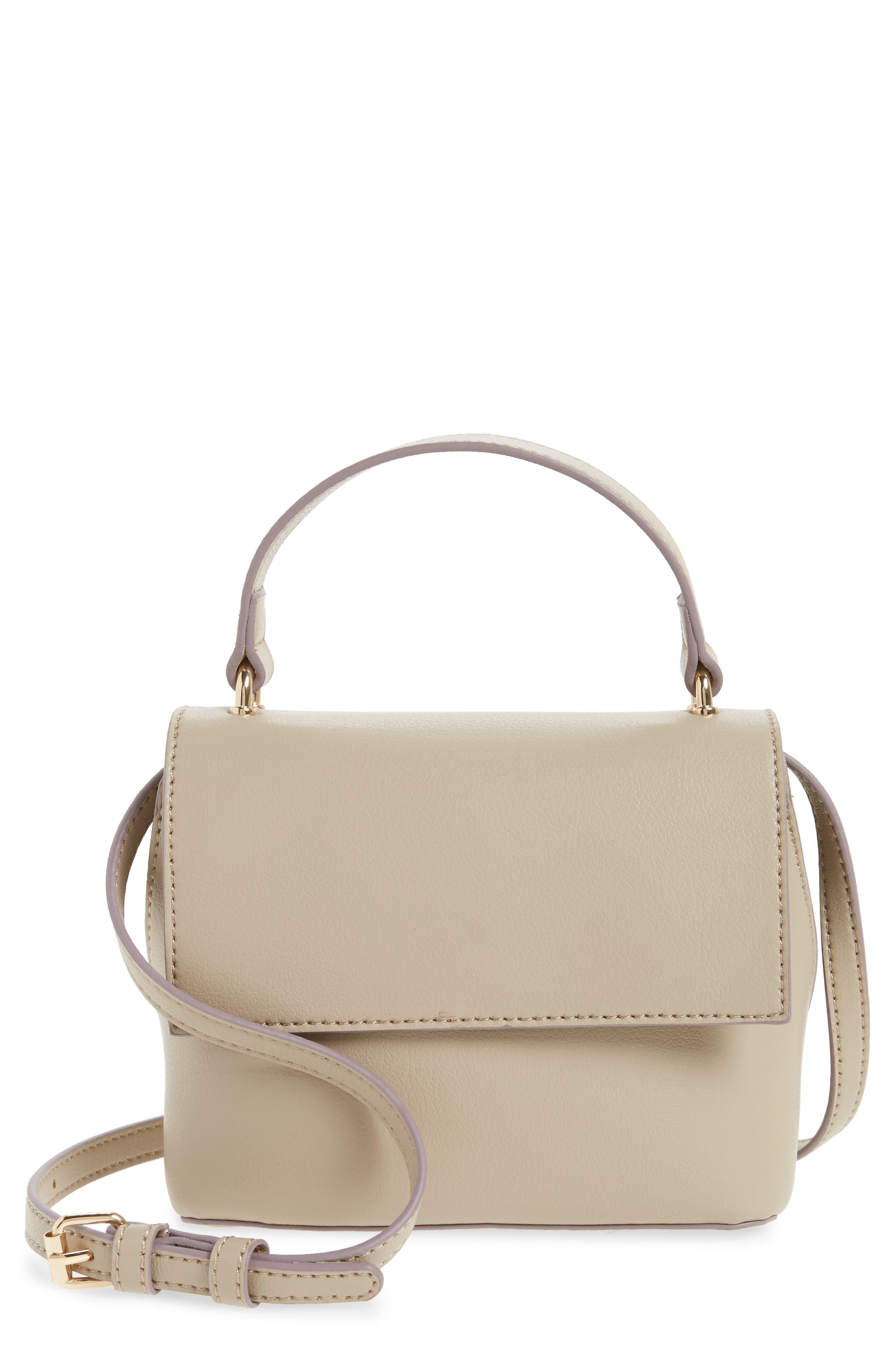 Main Image - Sole Society Mini Chino Crossbody Bag