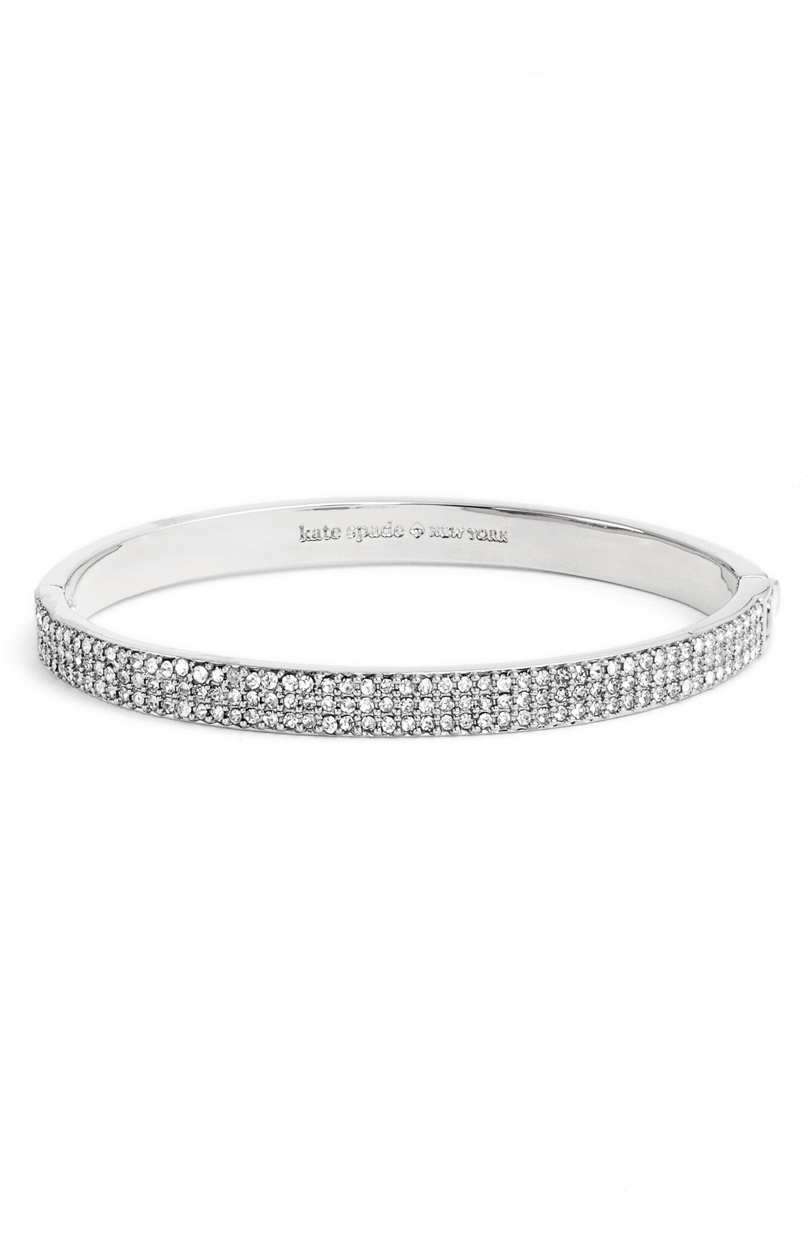 Main Image - kate spade new york heavy metals pavé bangle