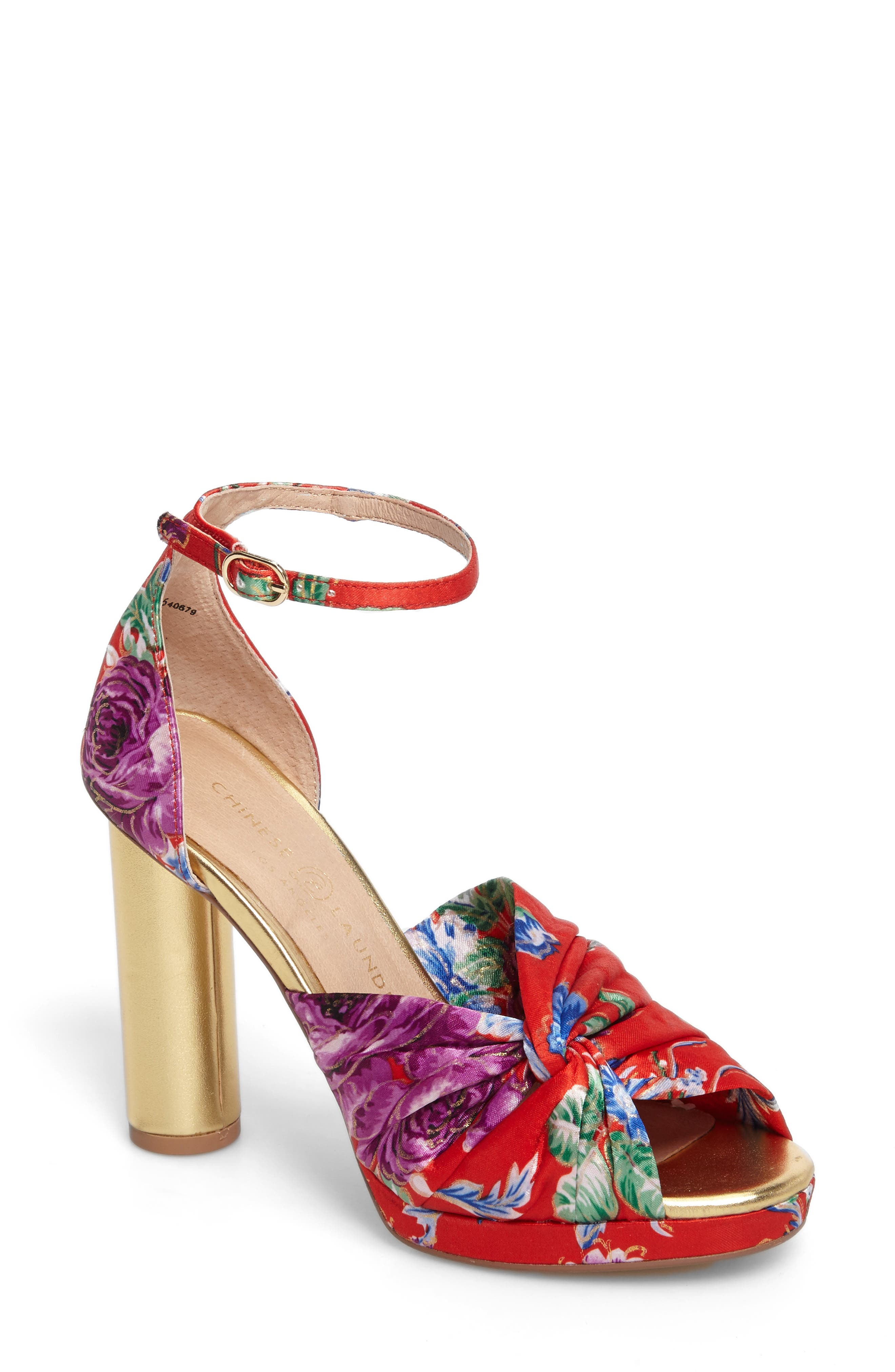 Alternate Image 1 Selected - Chinese Laundry Flory Knotted Sandal (Women)