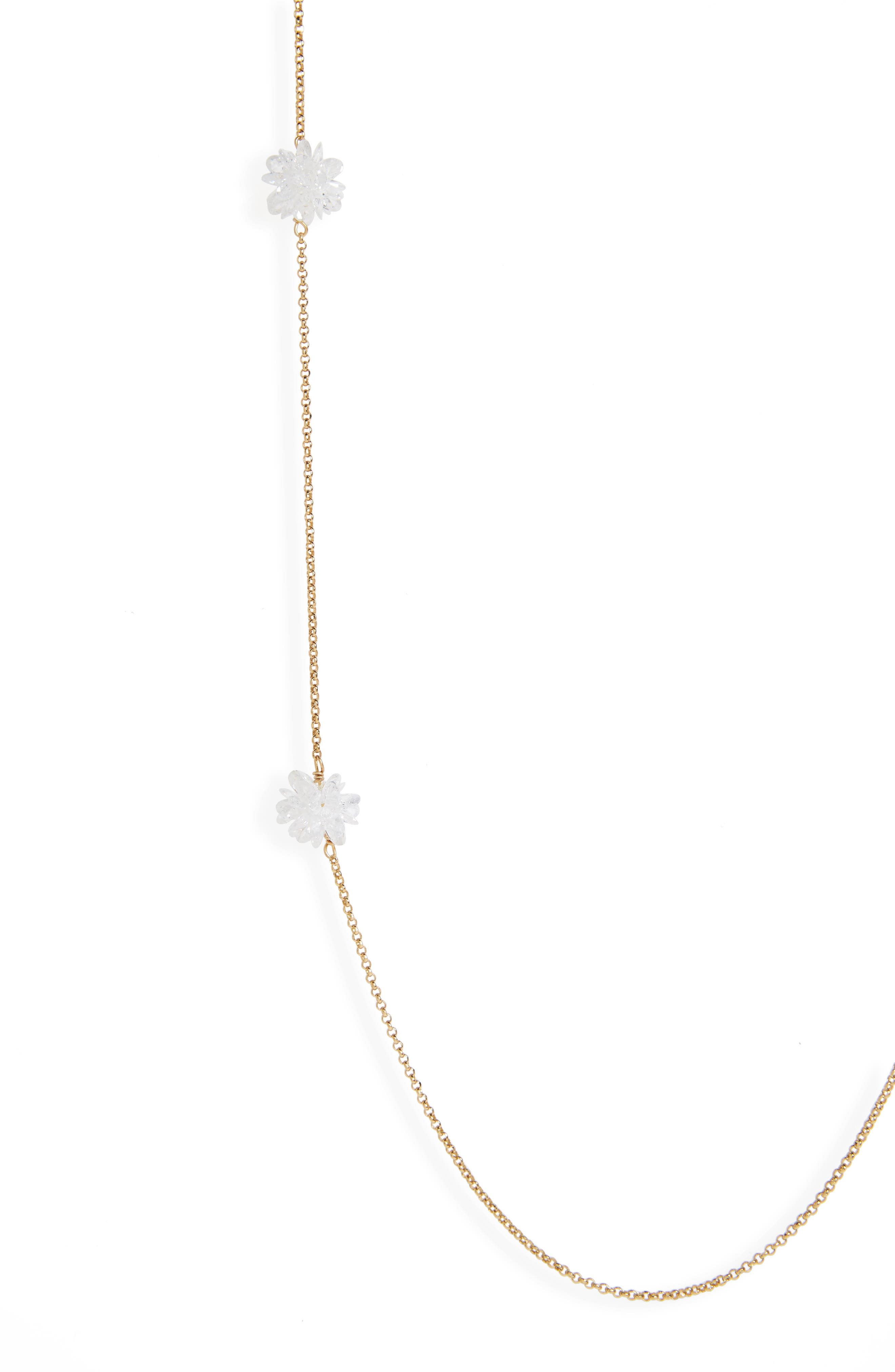 Alternate Image 2  - kate spade new york flying colors rock candy long station necklace