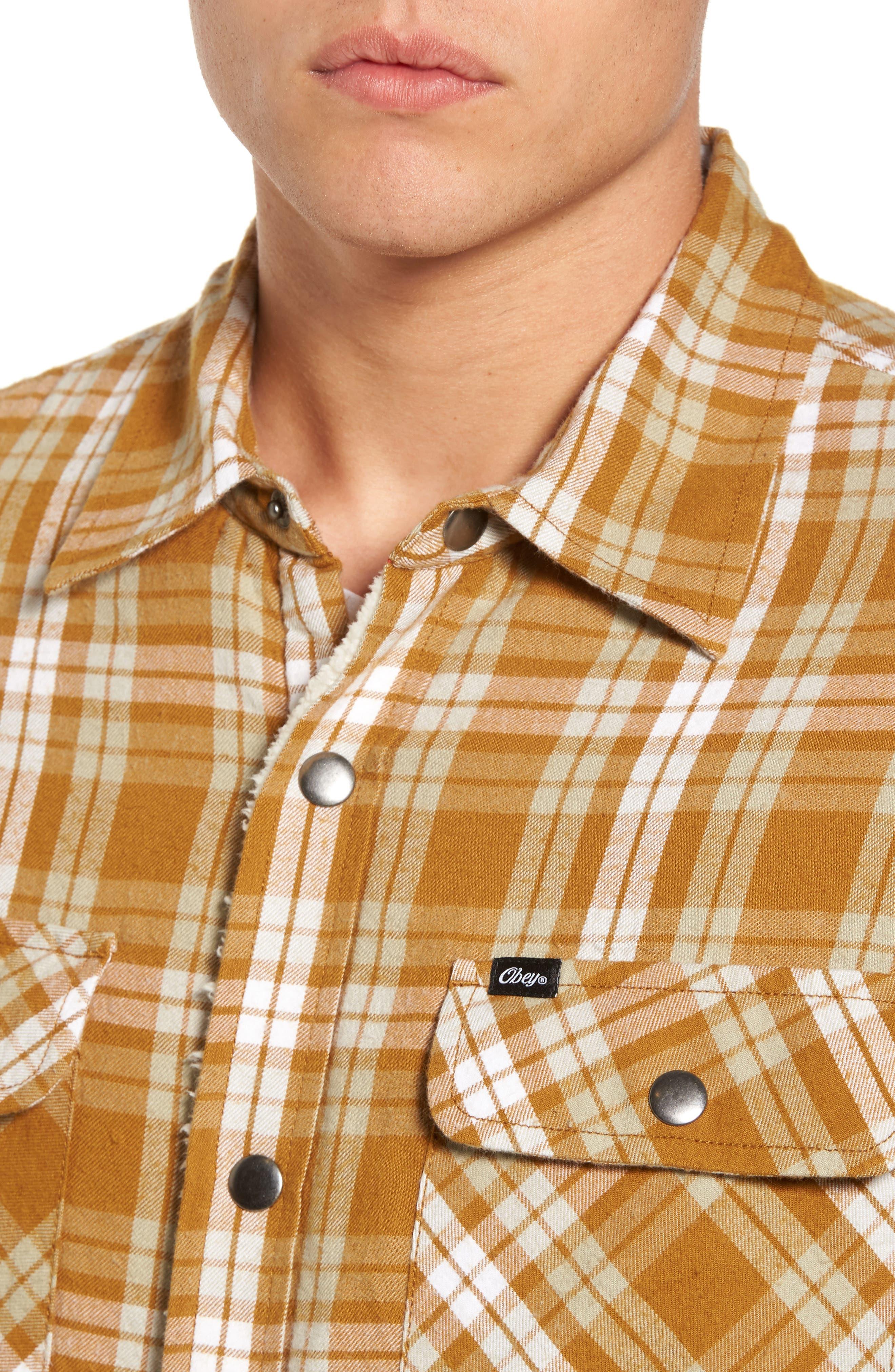 Alternate Image 4  - Obey Seattle Shirt Jacket