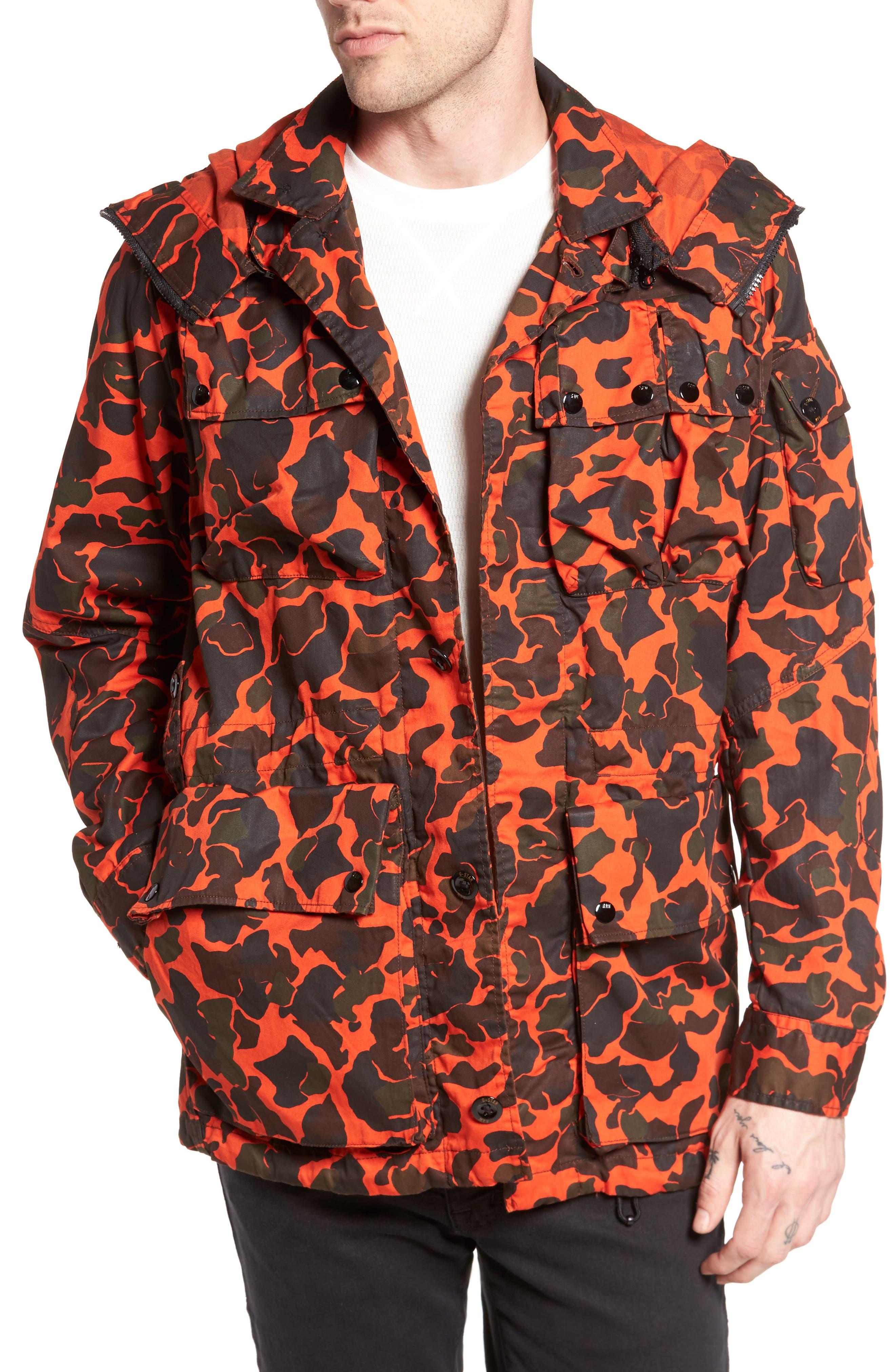 G-Star Raw Ospak Submarine Hooded Jacket