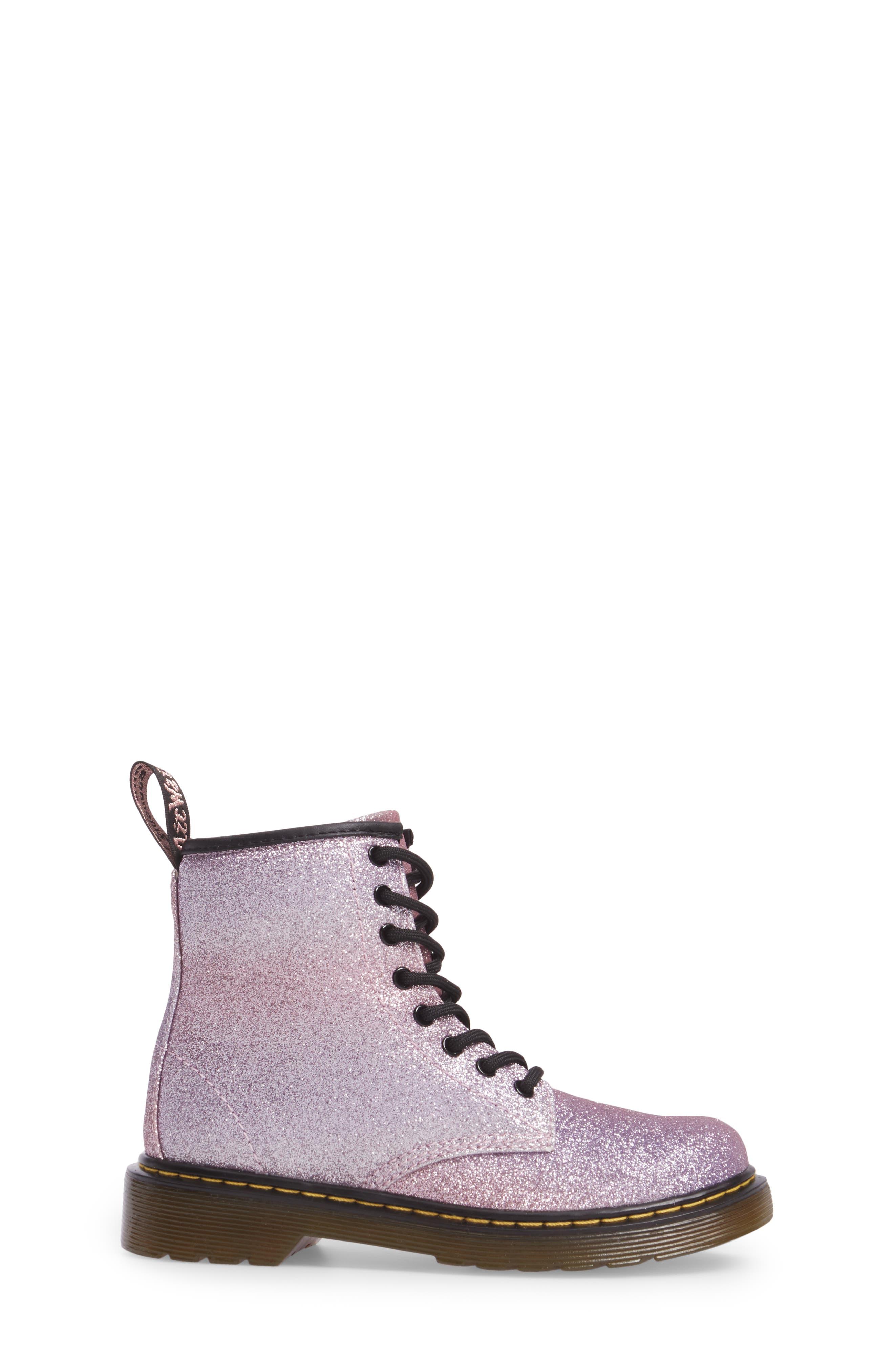 Alternate Image 3  - Dr. Martens Delaney Glitter Boot (Toddler, Little Kid & Big Kid)