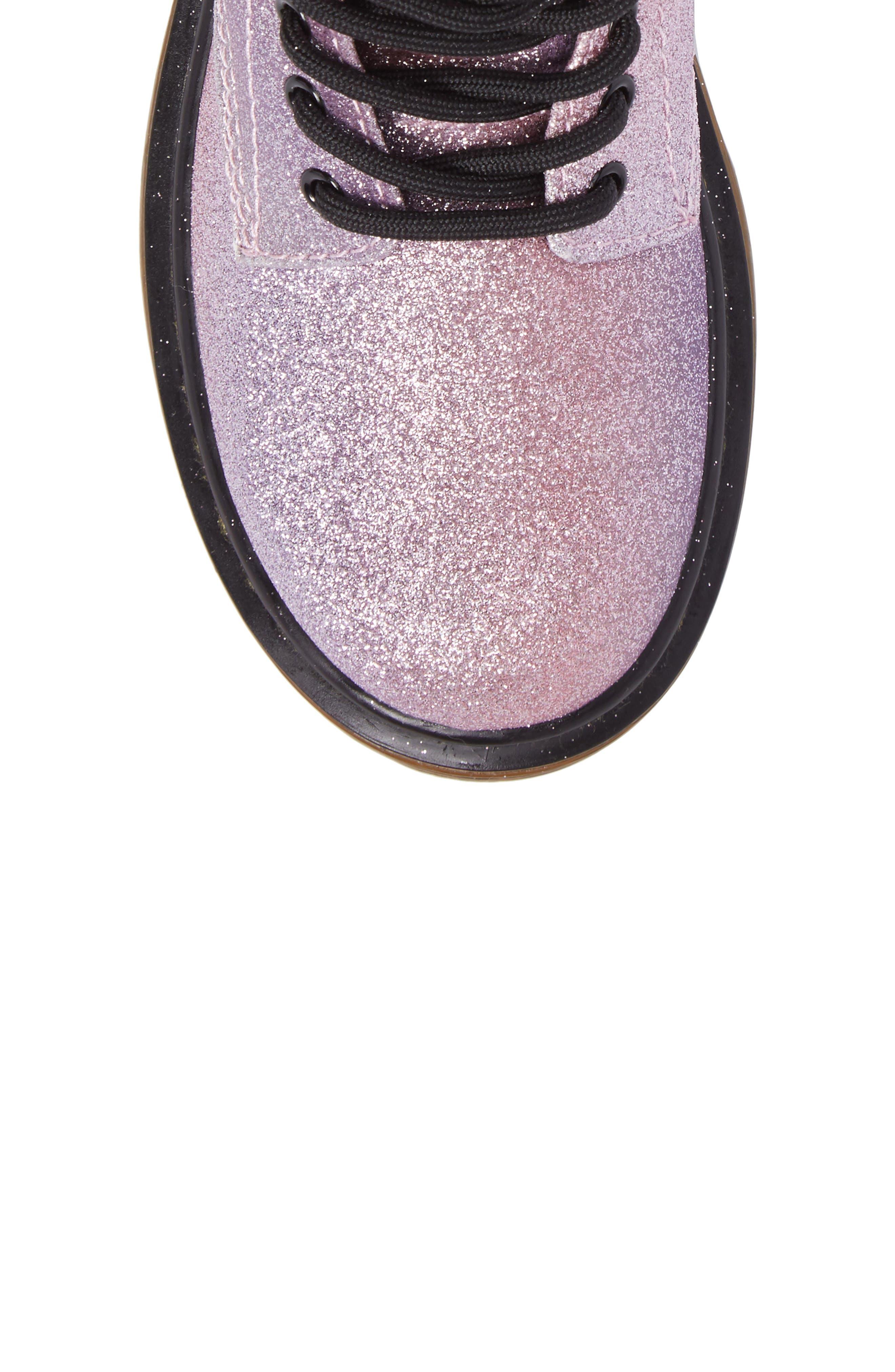 Alternate Image 5  - Dr. Martens Delaney Glitter Boot (Toddler, Little Kid & Big Kid)