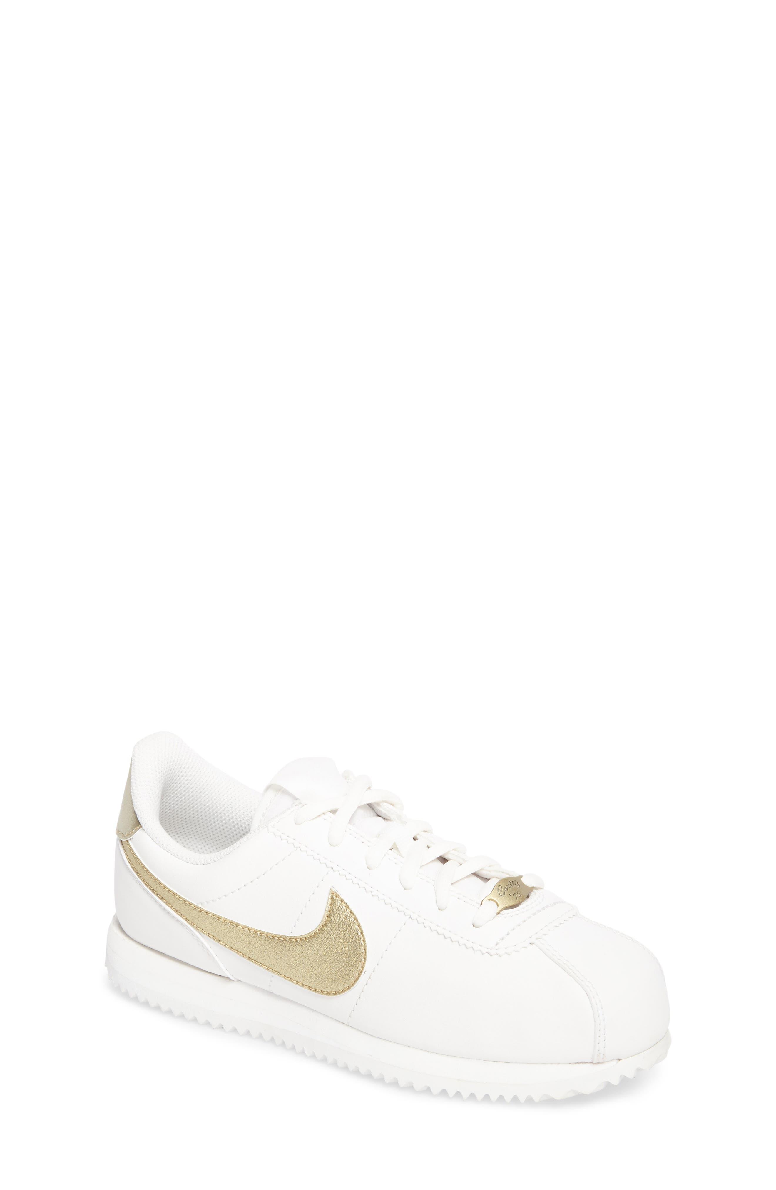 Alternate Image 1 Selected - Nike Cortez Basic SL Sneaker (Toddler, Little Kid & Big Kid)