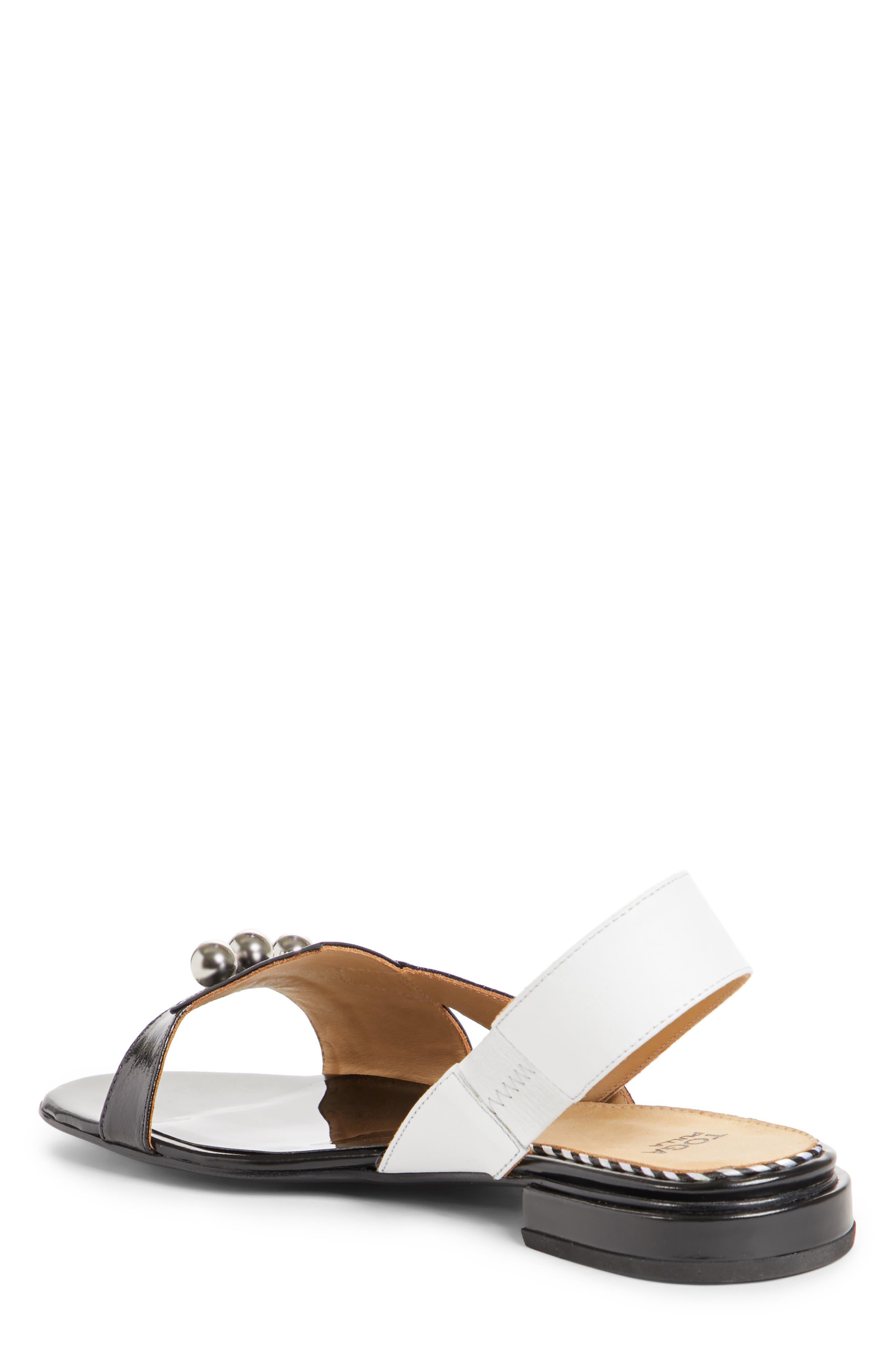 Alternate Image 3  - TOGA PULLA Embellished Colorblock Slingback Sandal (Women)